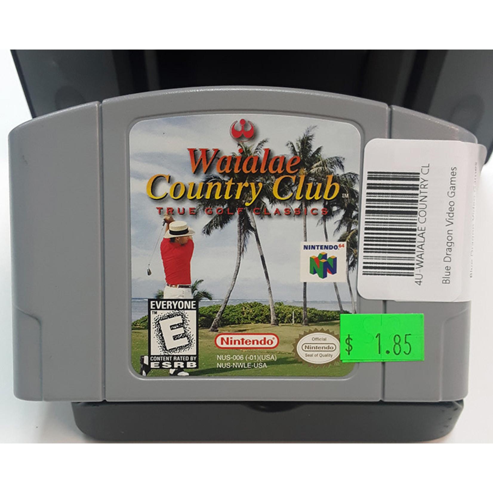 N64U-WAIALAE COUNTRY CLUB (cartridge)