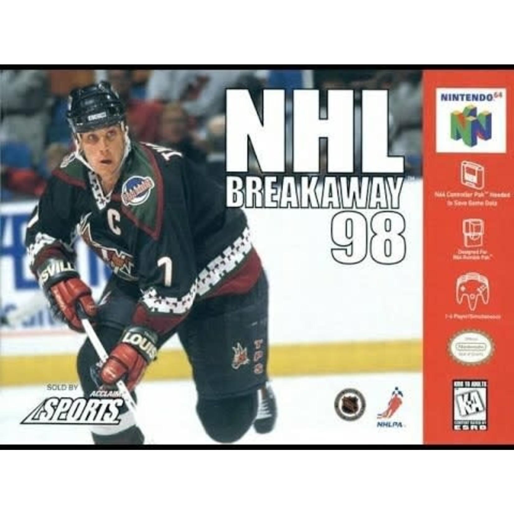 N64U-NHL Breakaway '98 (Boxed)
