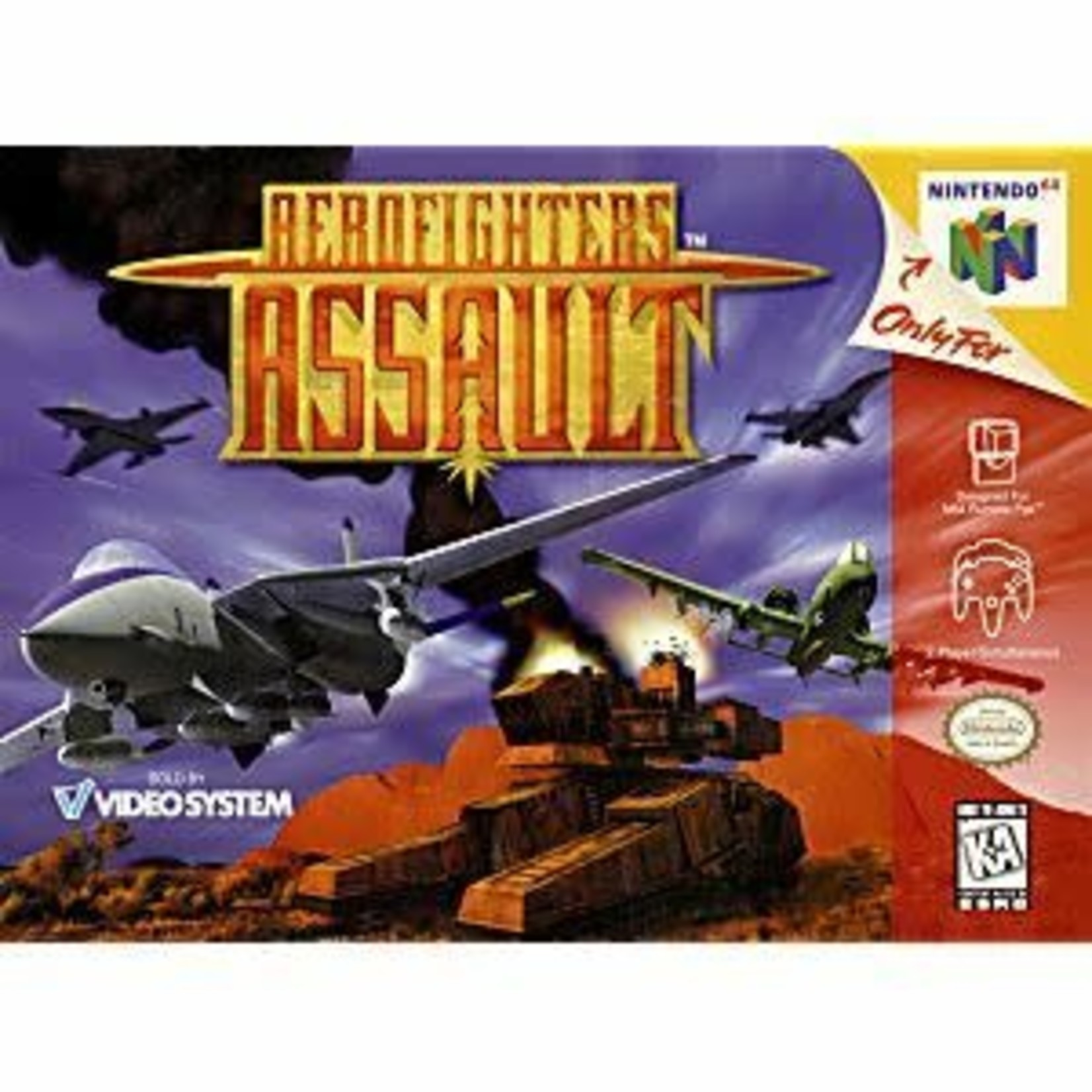 N64U-AEROFIGHTERS ASSAULT (cartridge)