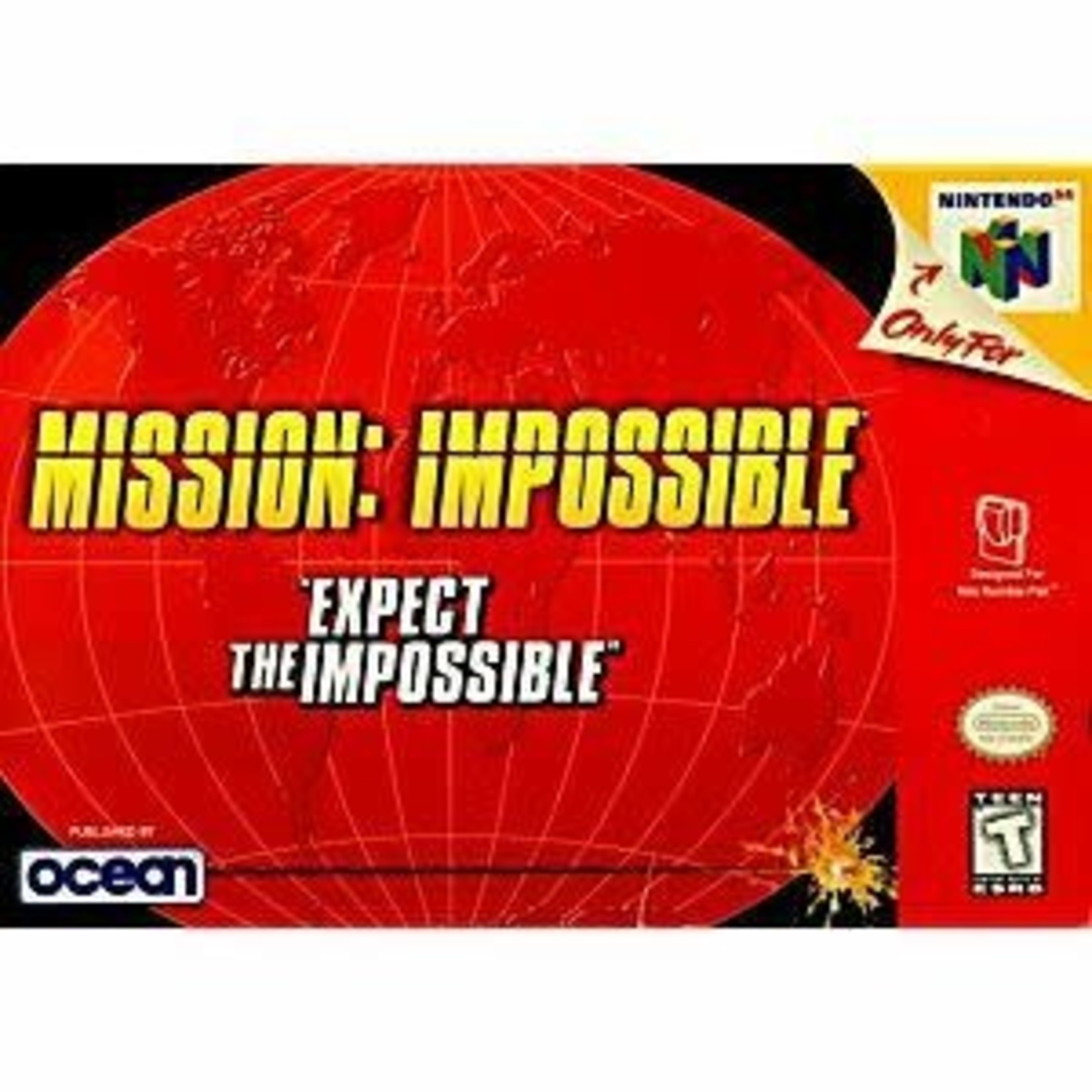 N64U-Mission Impossible (COMPLETE IN BOX)