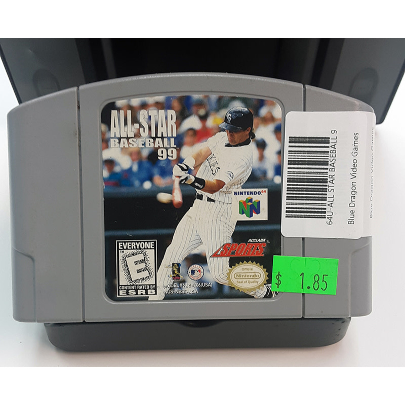 N64U-ALL STAR BASEBALL 99 (cartridge)