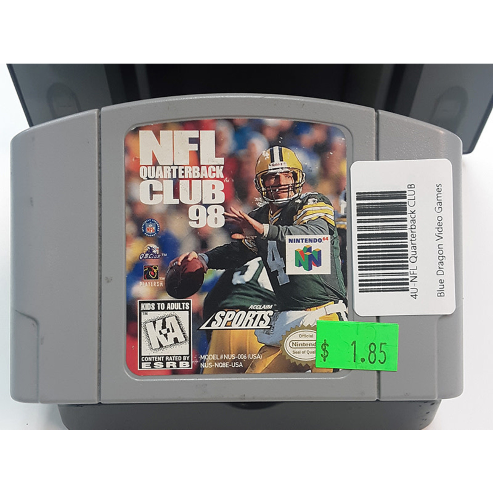 N64U-NFL Quarterback CLUB 98 (cartridge)