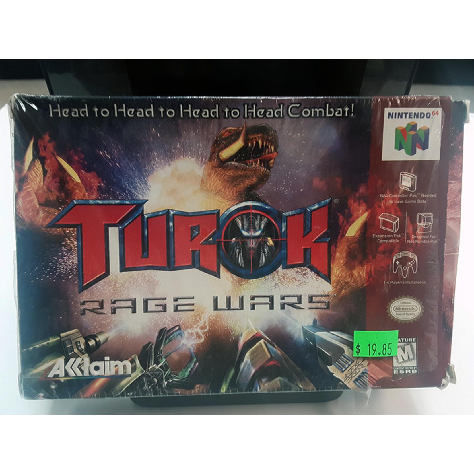 N64U-Turok Rage Wars (Complete in box)