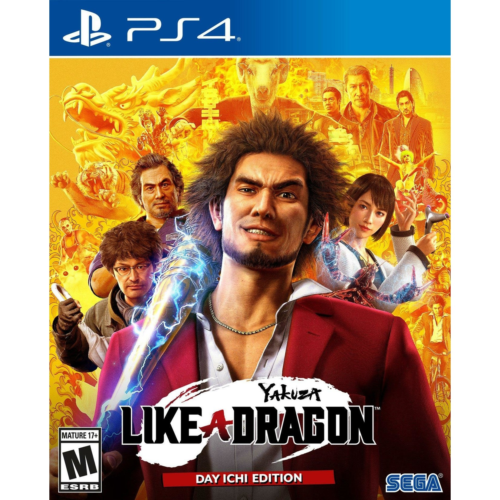 PS4-Yakuza: Like a Dragon Day One Edition