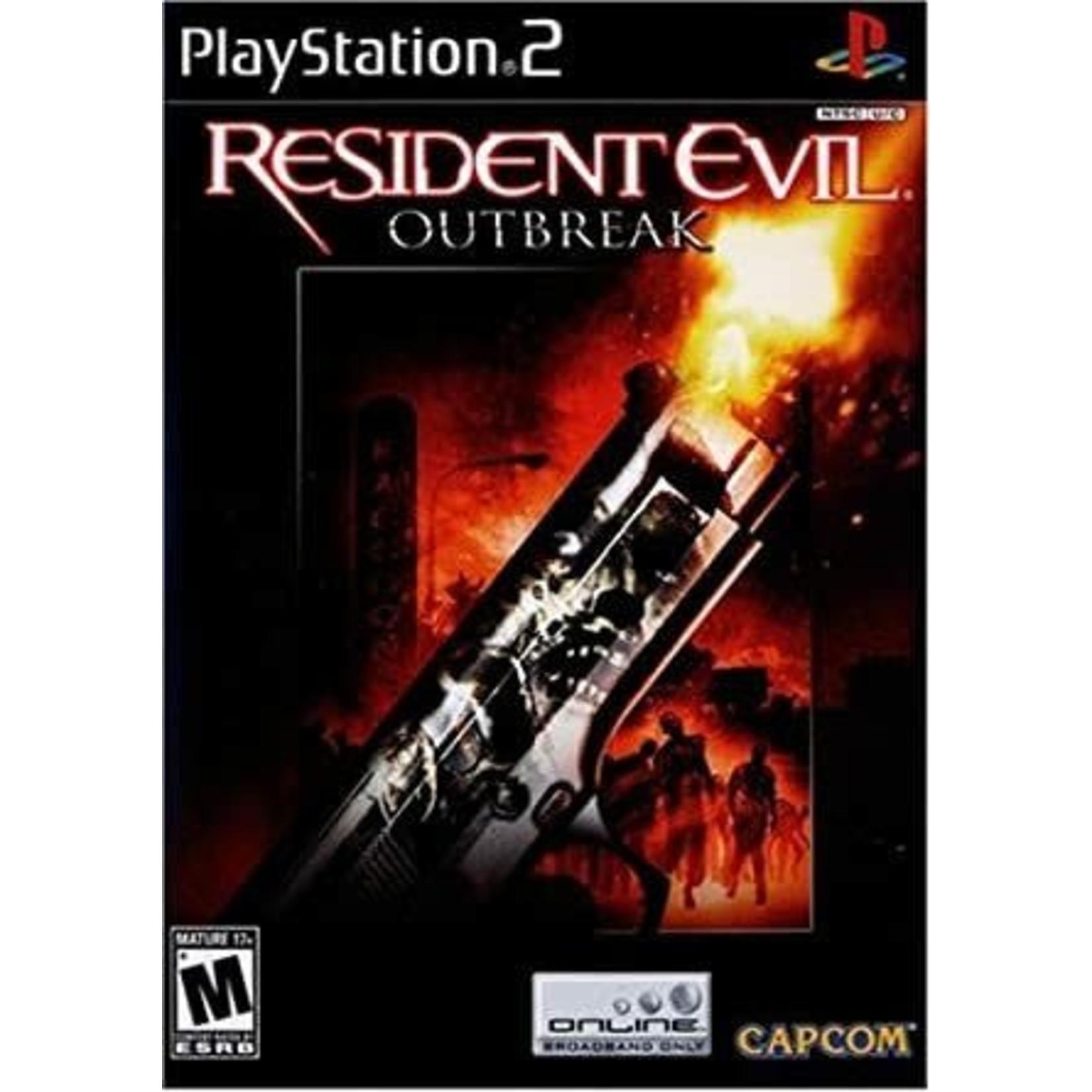PS2U-Resident Evil Outbreak
