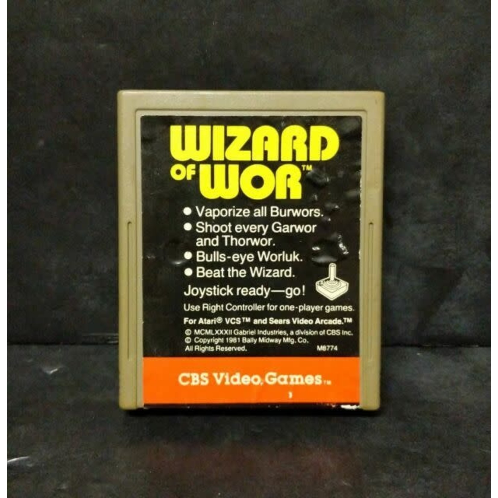 ATARIU-Wizard Of Wor (COMPLETE IN BOX)