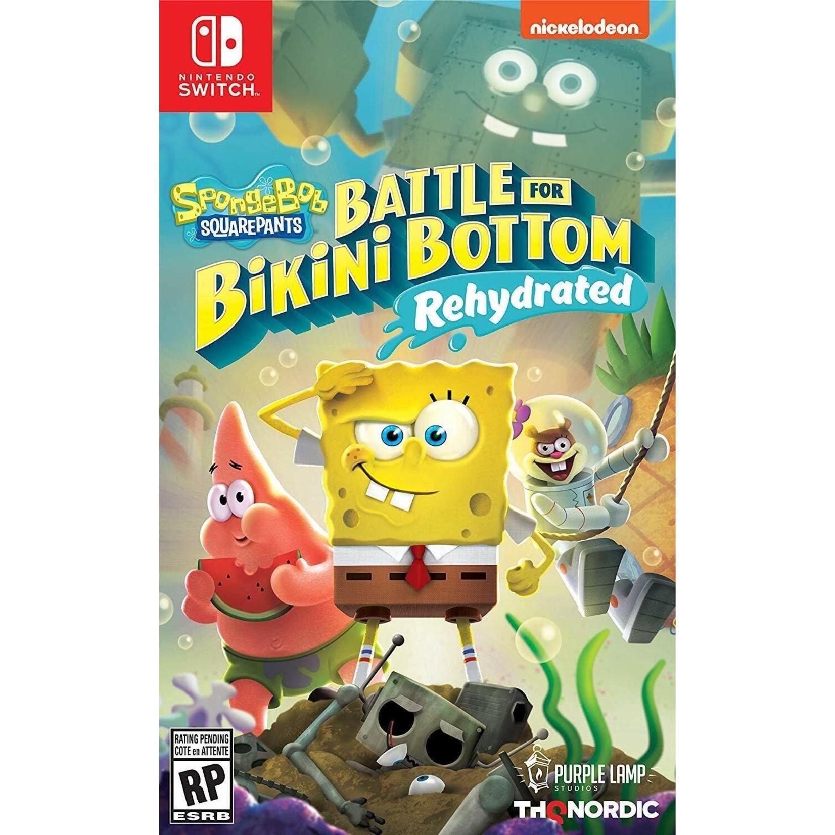 Switchu-SpongeBob SquarePants: Battle for Bikini Bottom - Rehydrated
