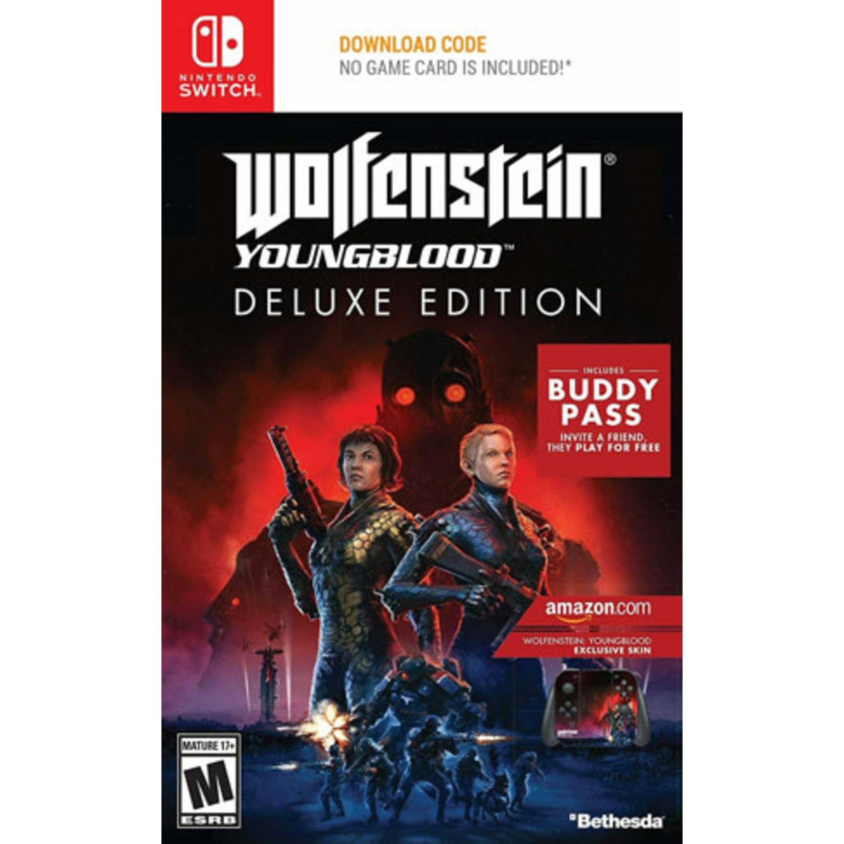 Switch-Wolfenstein: Youngblood Deluxe Edition