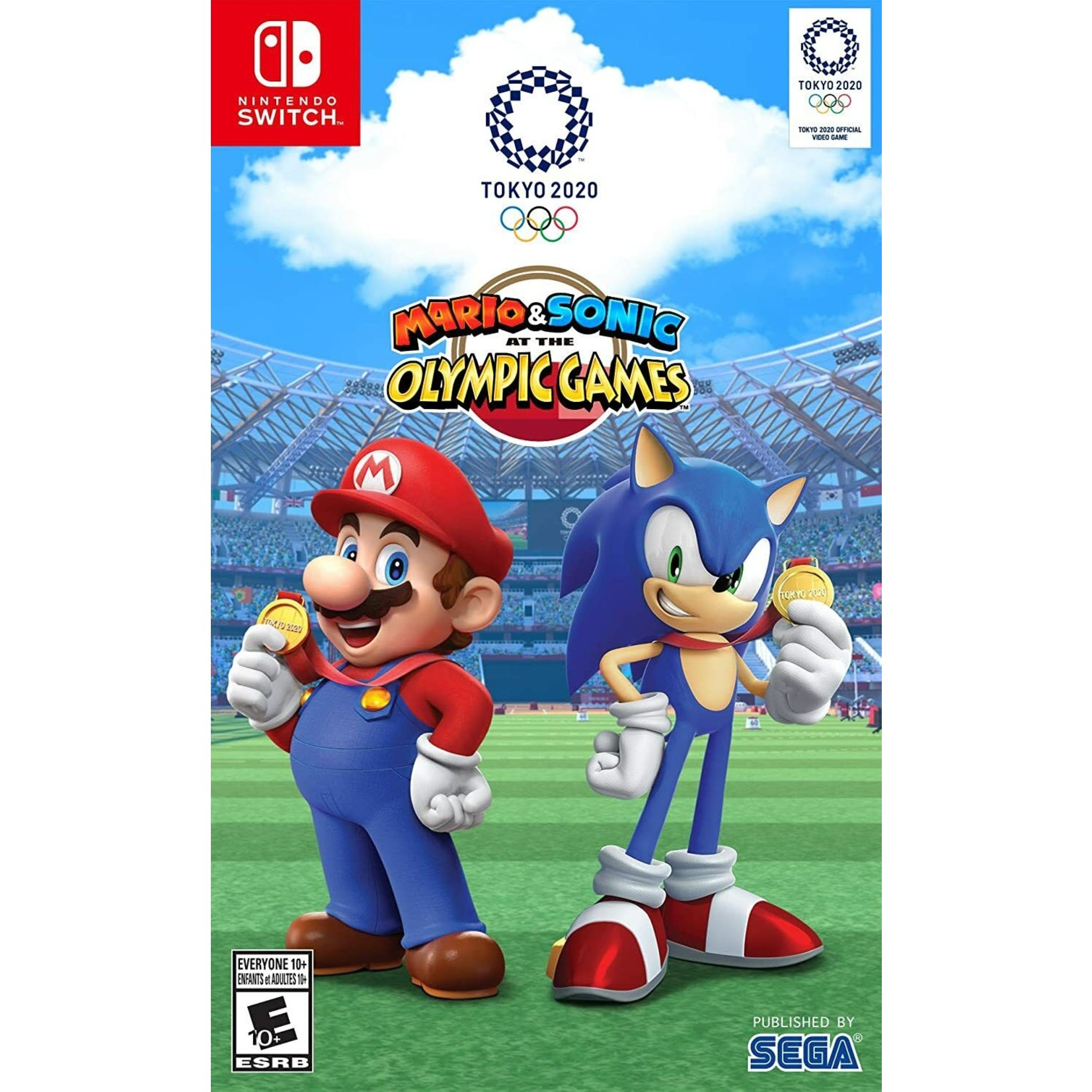 switch-Mario and Sonic at the Olympic Games Tokyo 2020