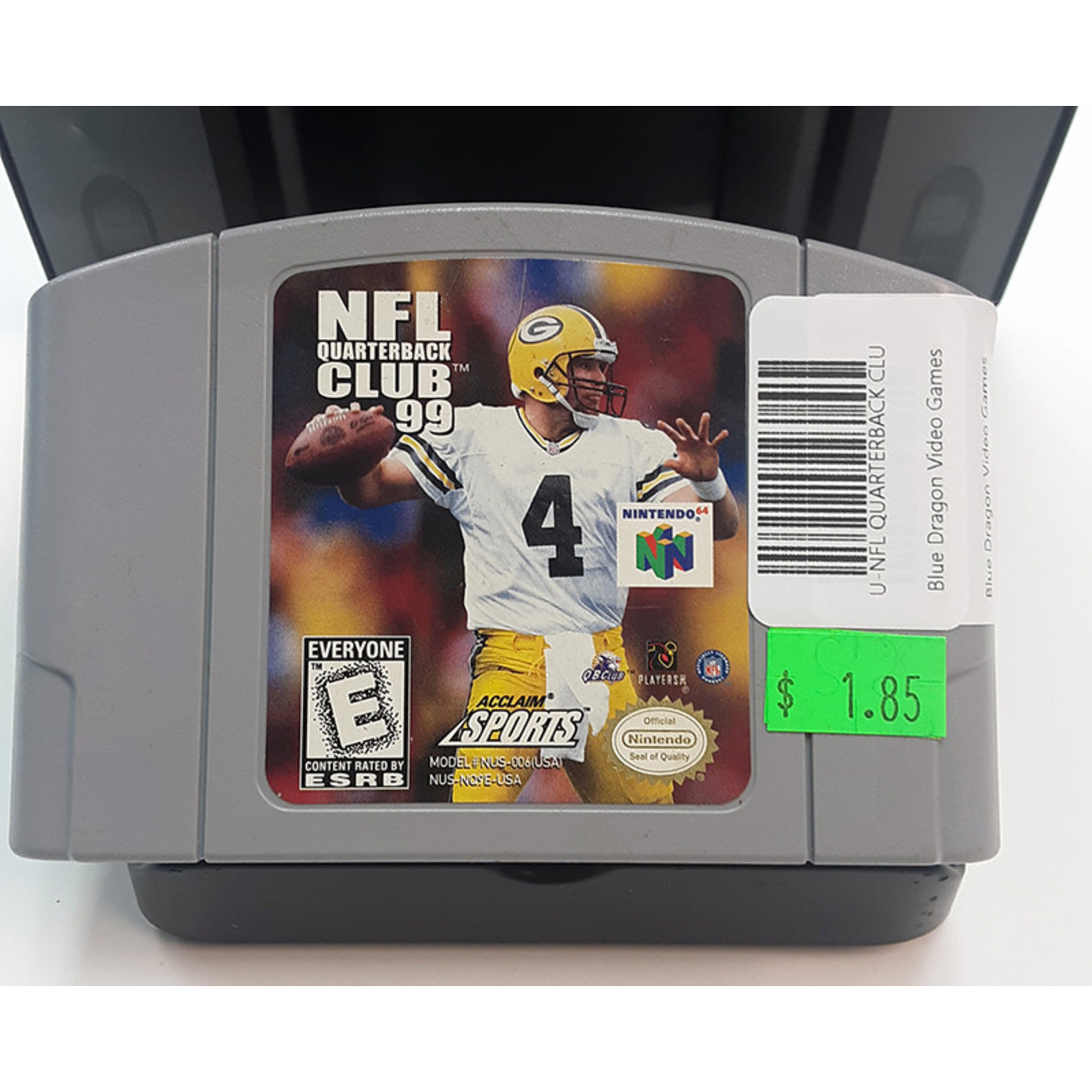 N64U-NFL QUARTERBACK CLUB 99 (cartridge)