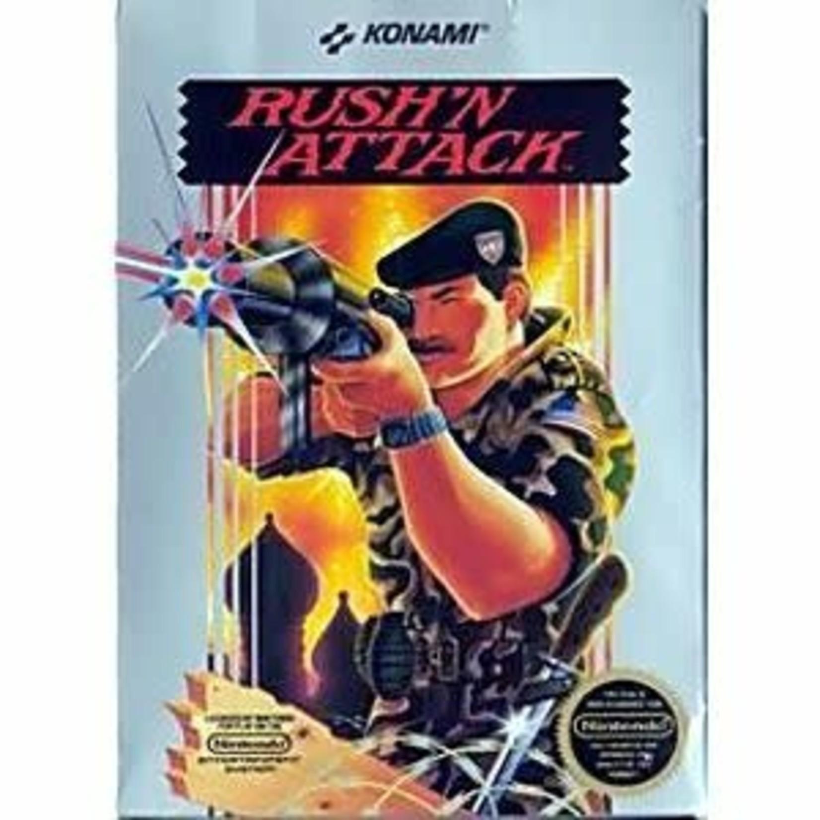 NESu-Rush'N Attack (hardcase)