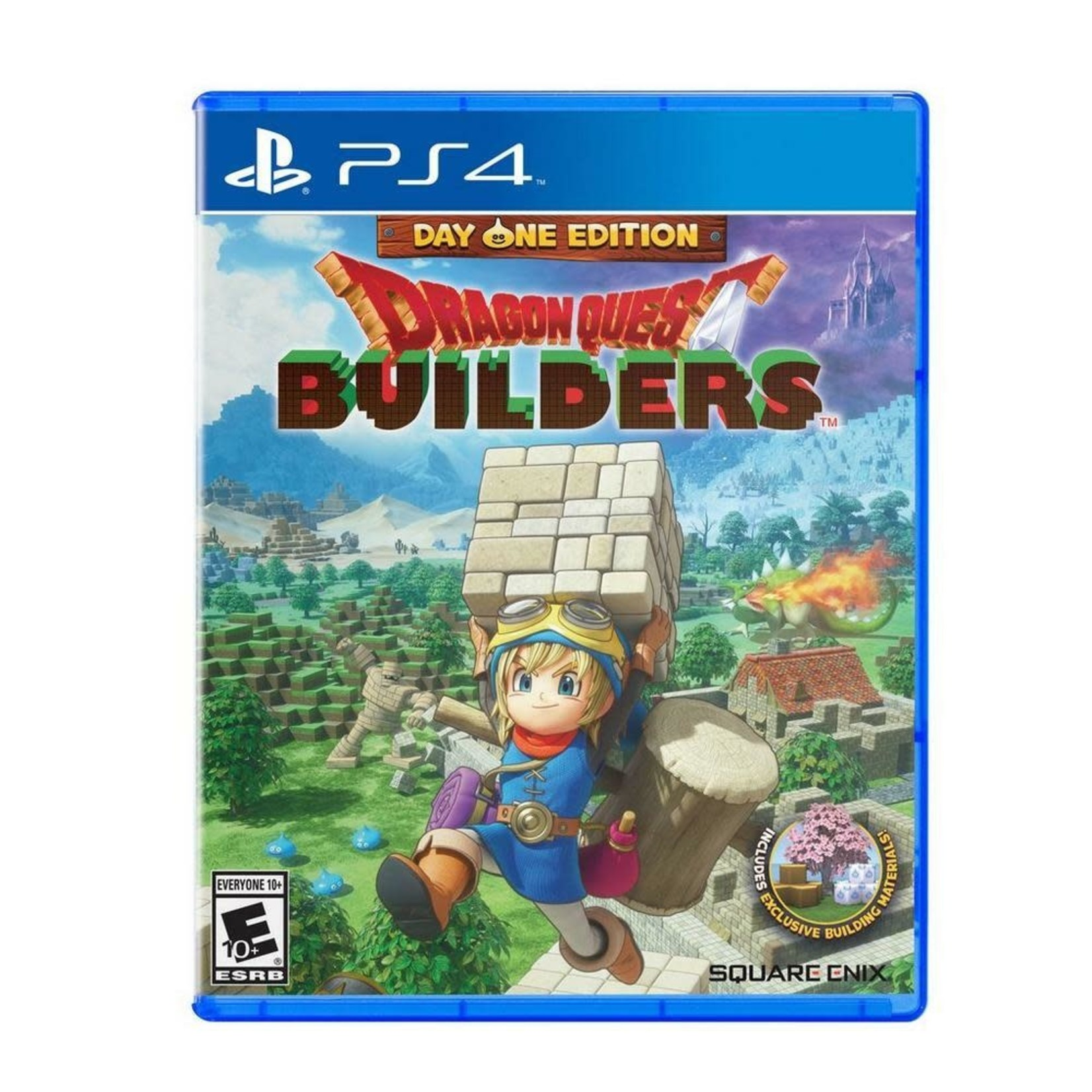 PS4-Dragon Quest Builders Day One Edition