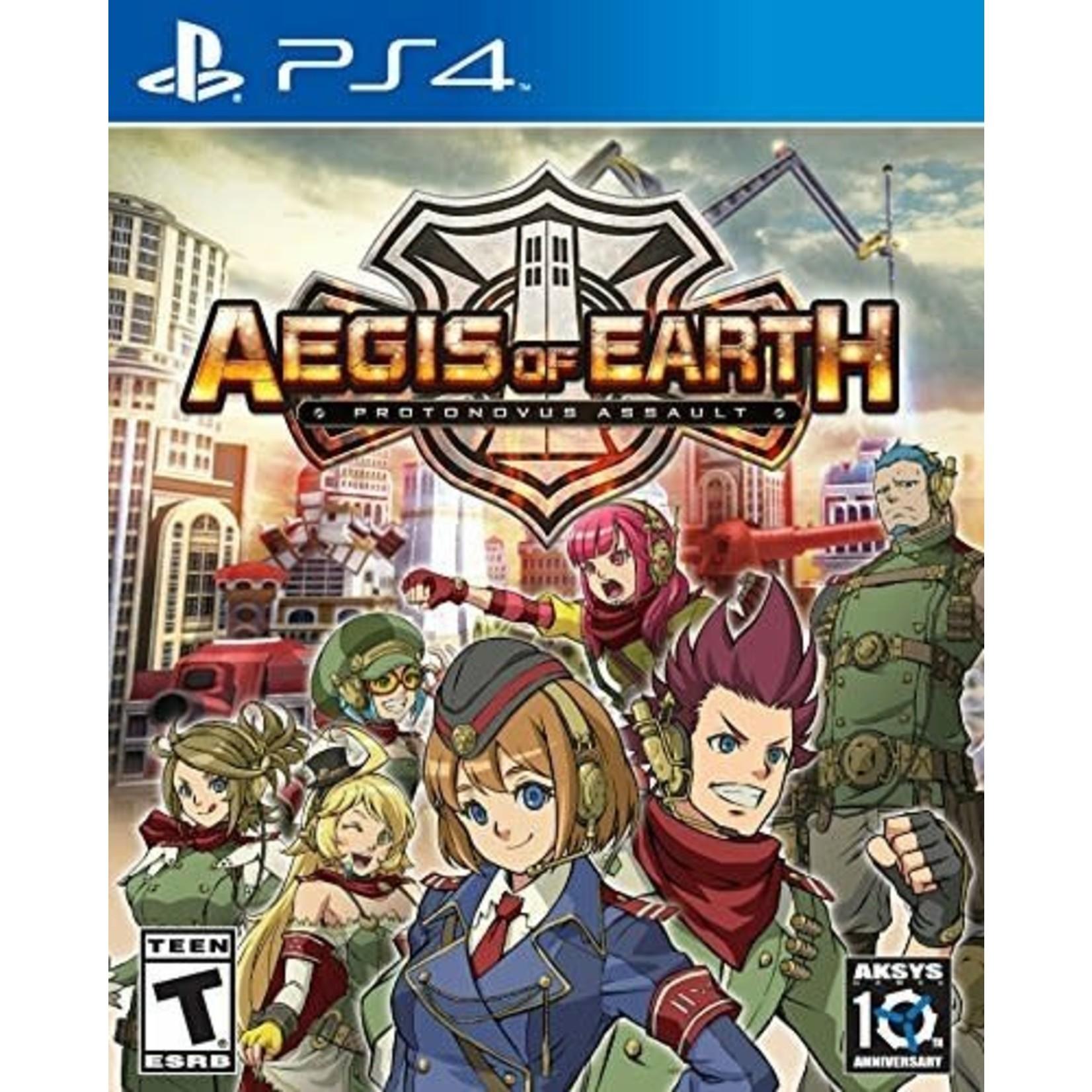 PS4-Aegis of Earth: Protonovus Assault