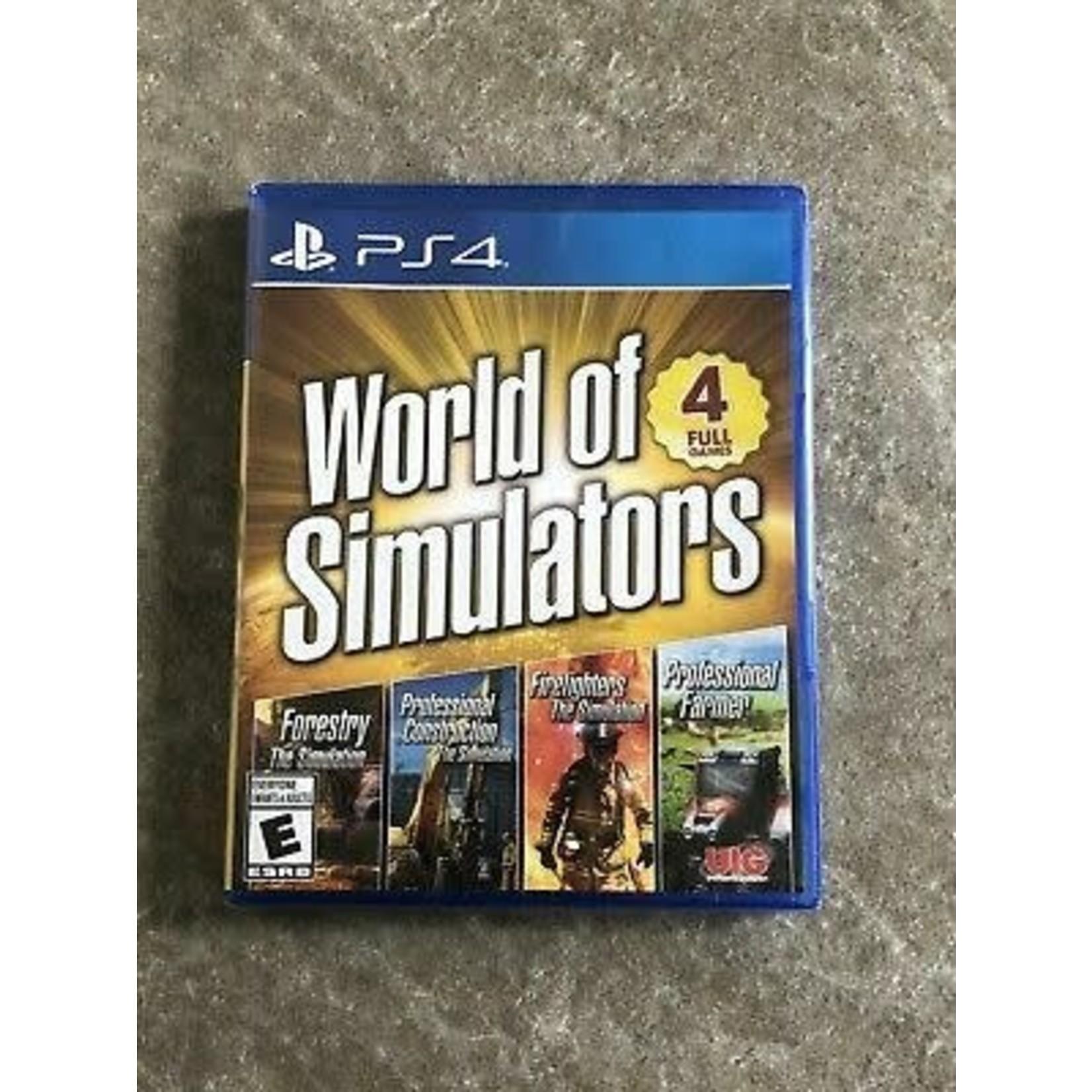 PS4-World Of Simulators
