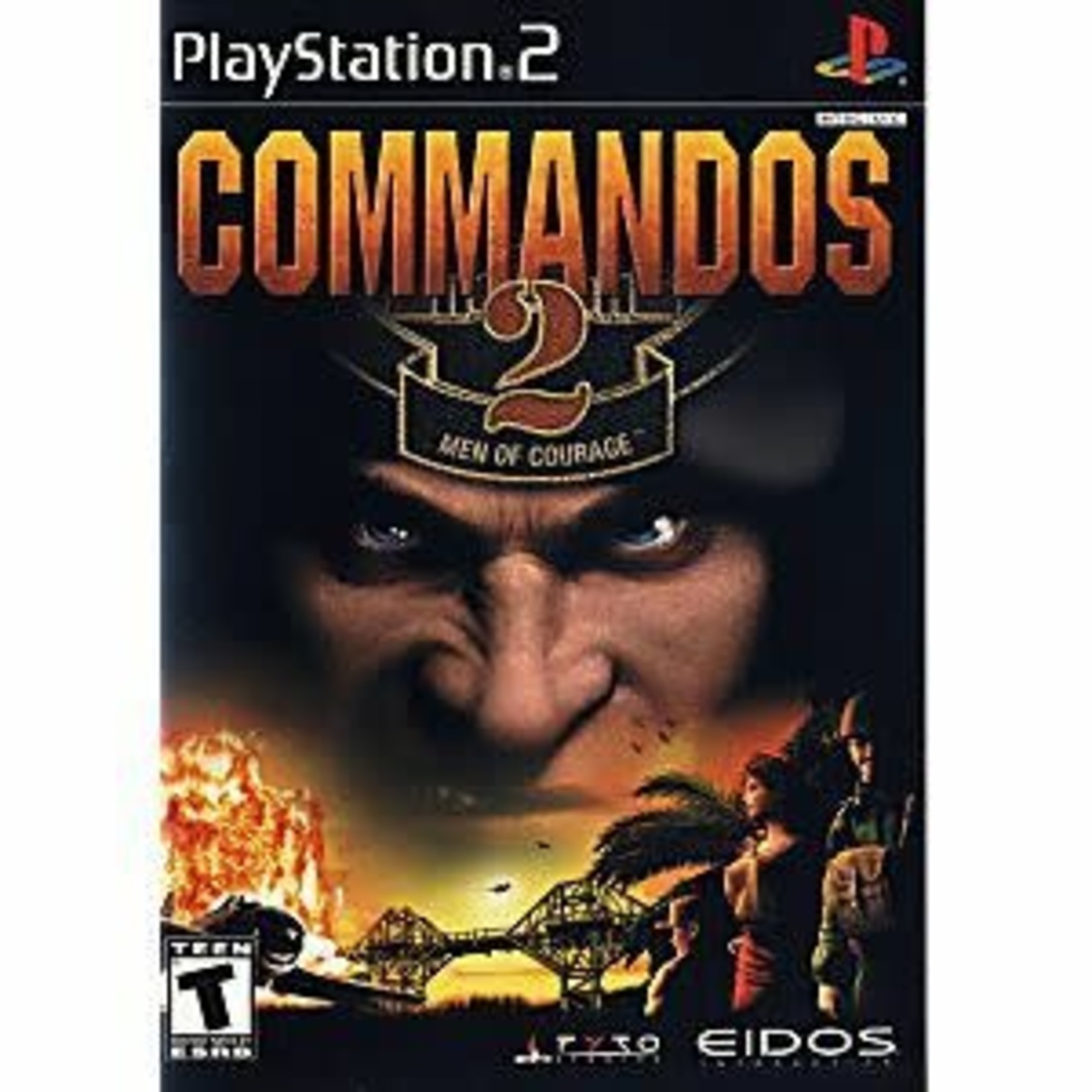 PS2U-COMMANDOS 2 MEN OF COURAGE