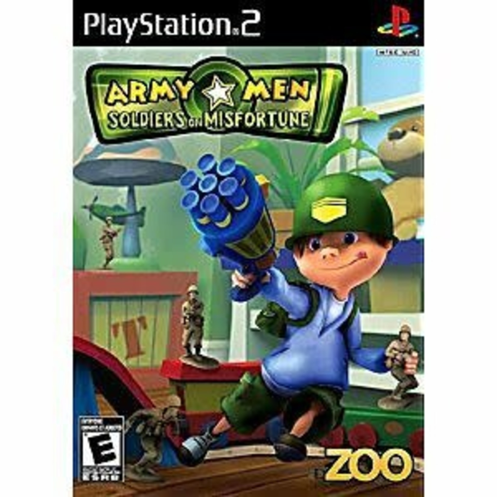 PS2U-ARMY MEN SOLDIERS OF MISFORTUNE