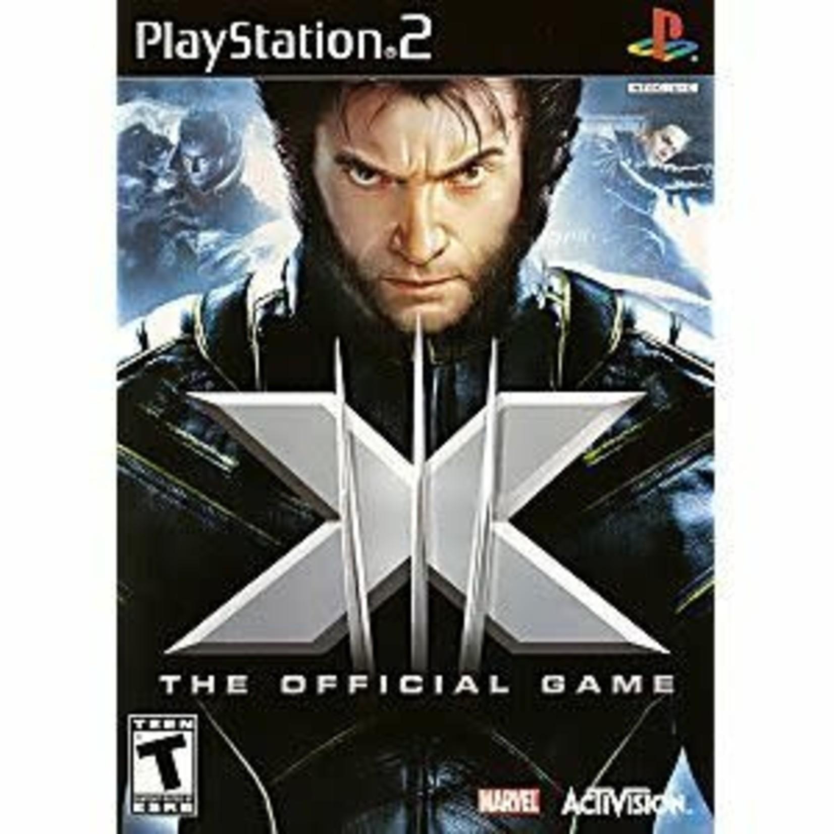 PS2U-XMEN OFFICIAL GAME