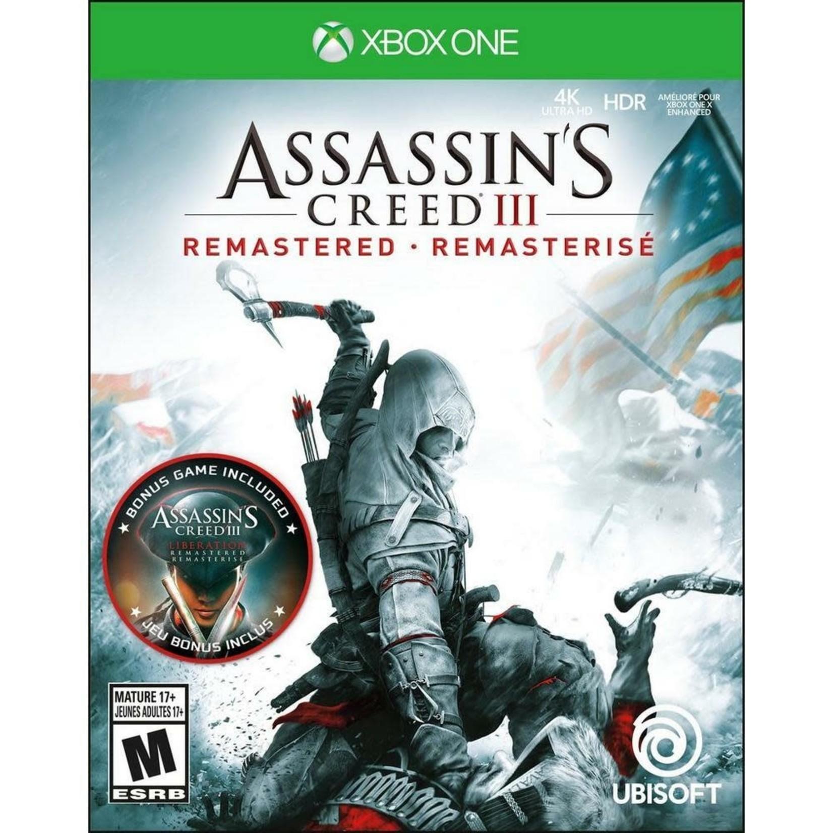 XB1U-Assassin's Creed III Remastered