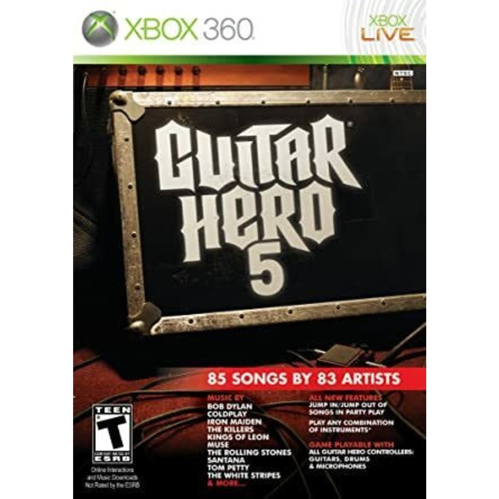 X3U-Guitar Hero 5 - Game Only
