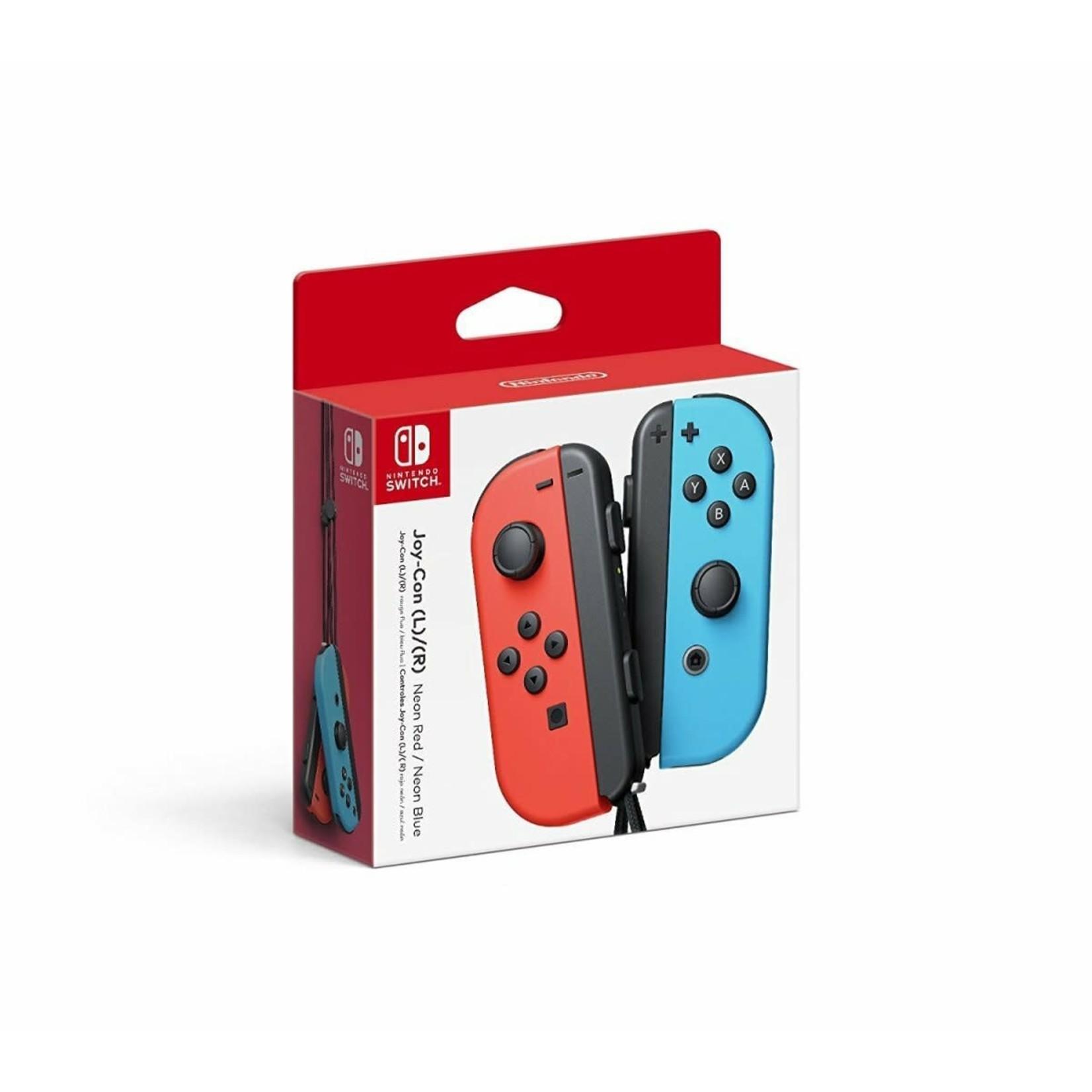 Nintendo Switch Joy-Con (L-R) - Neon Blue/Red
