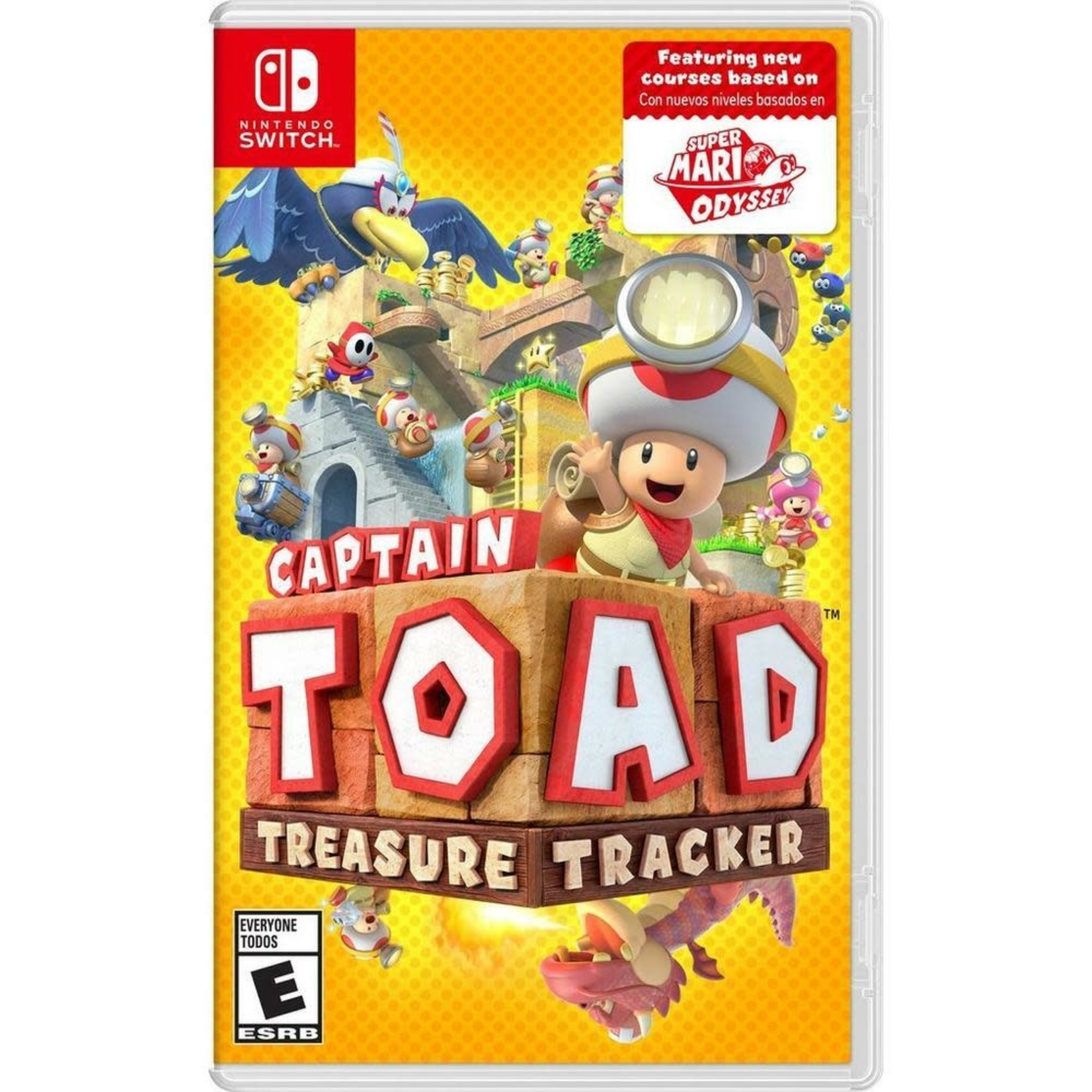 SWITCH-Captain Toad: Treasure Tracker