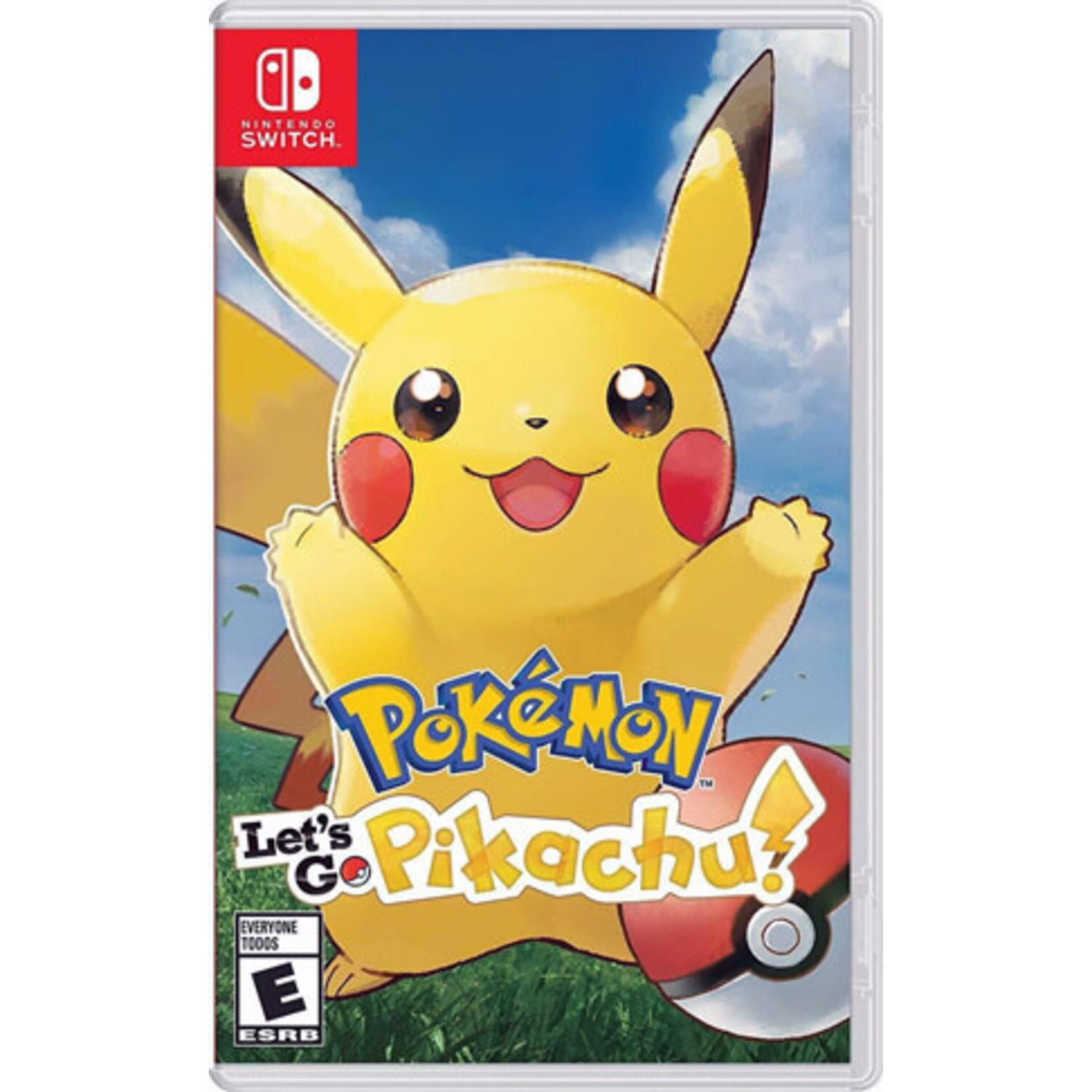 Switch-Pokemon: Let's Go, Pikachu!