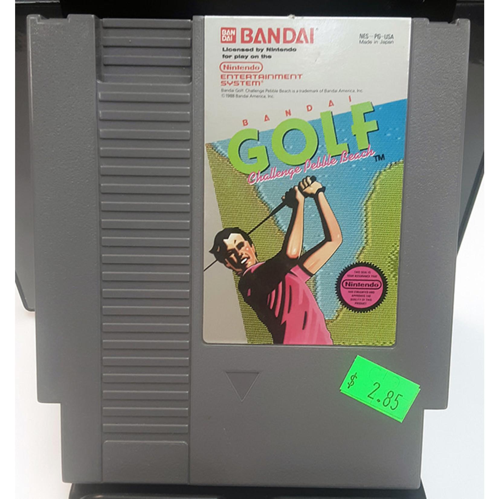 nesu-Bandai Golf Challenge Pebble Beach (cartridge)