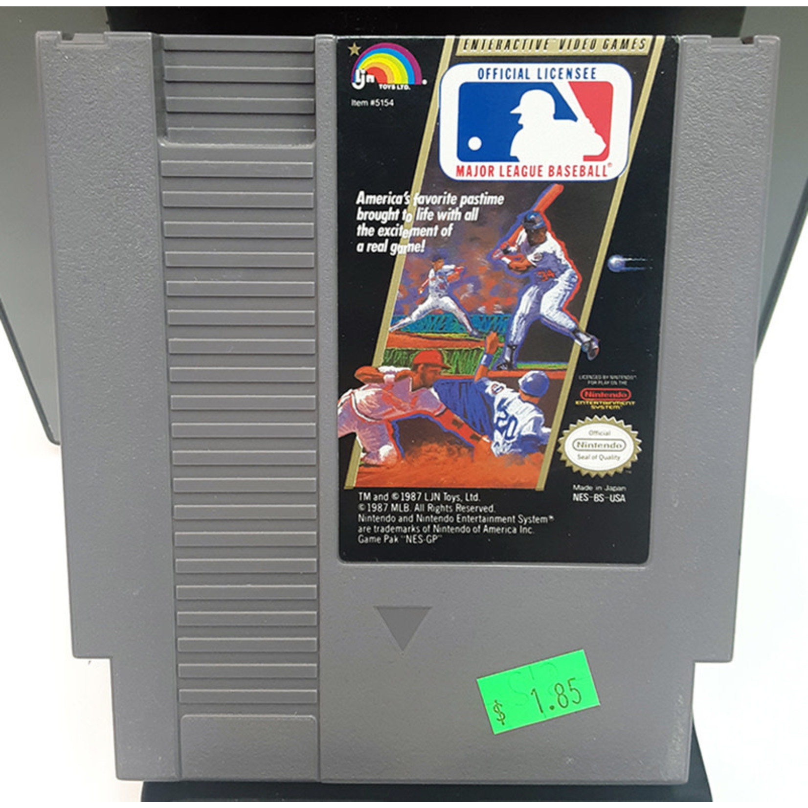 nesu-Major League Baseball (cartridge)