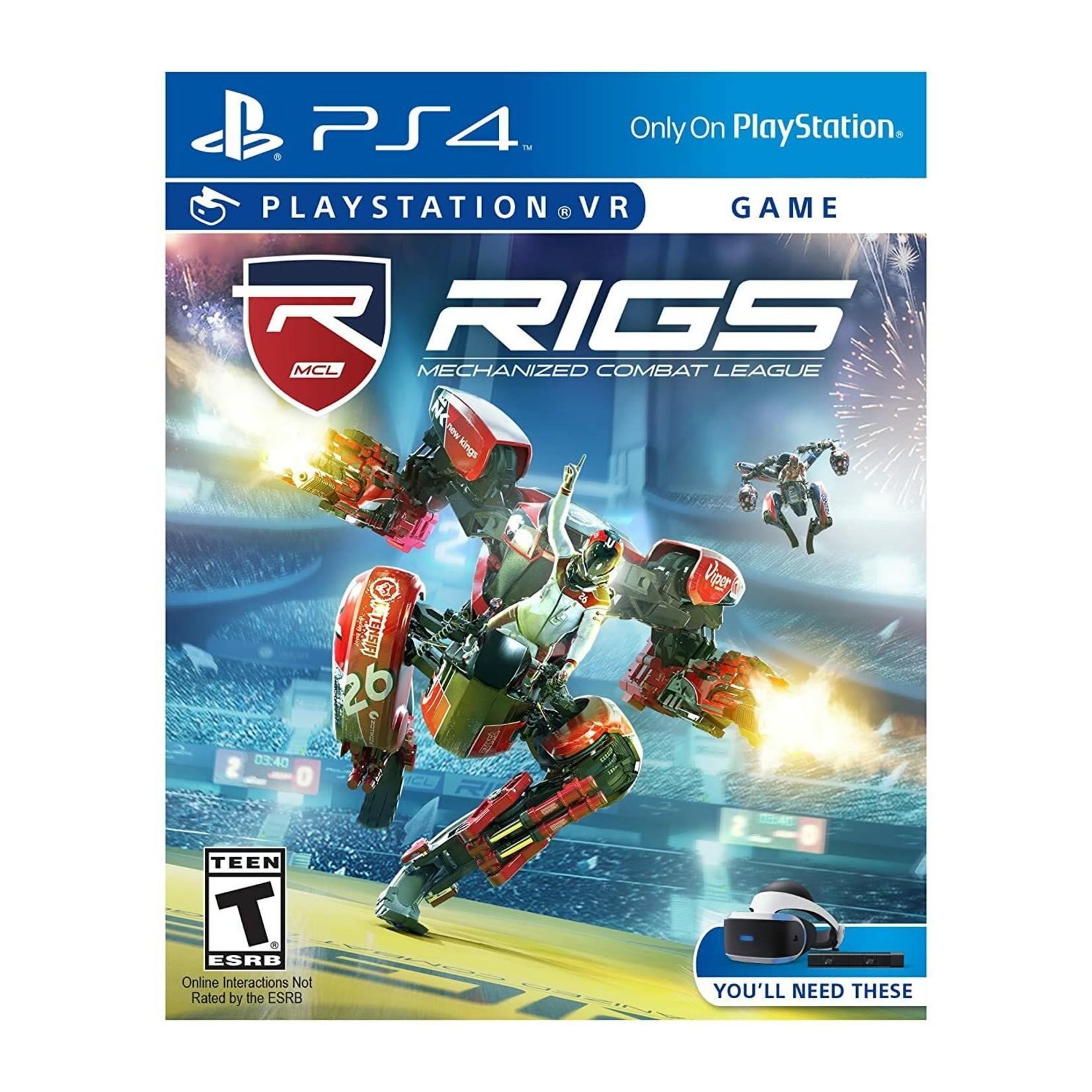 PS4U-RIGS Mechanized Combat League VR
