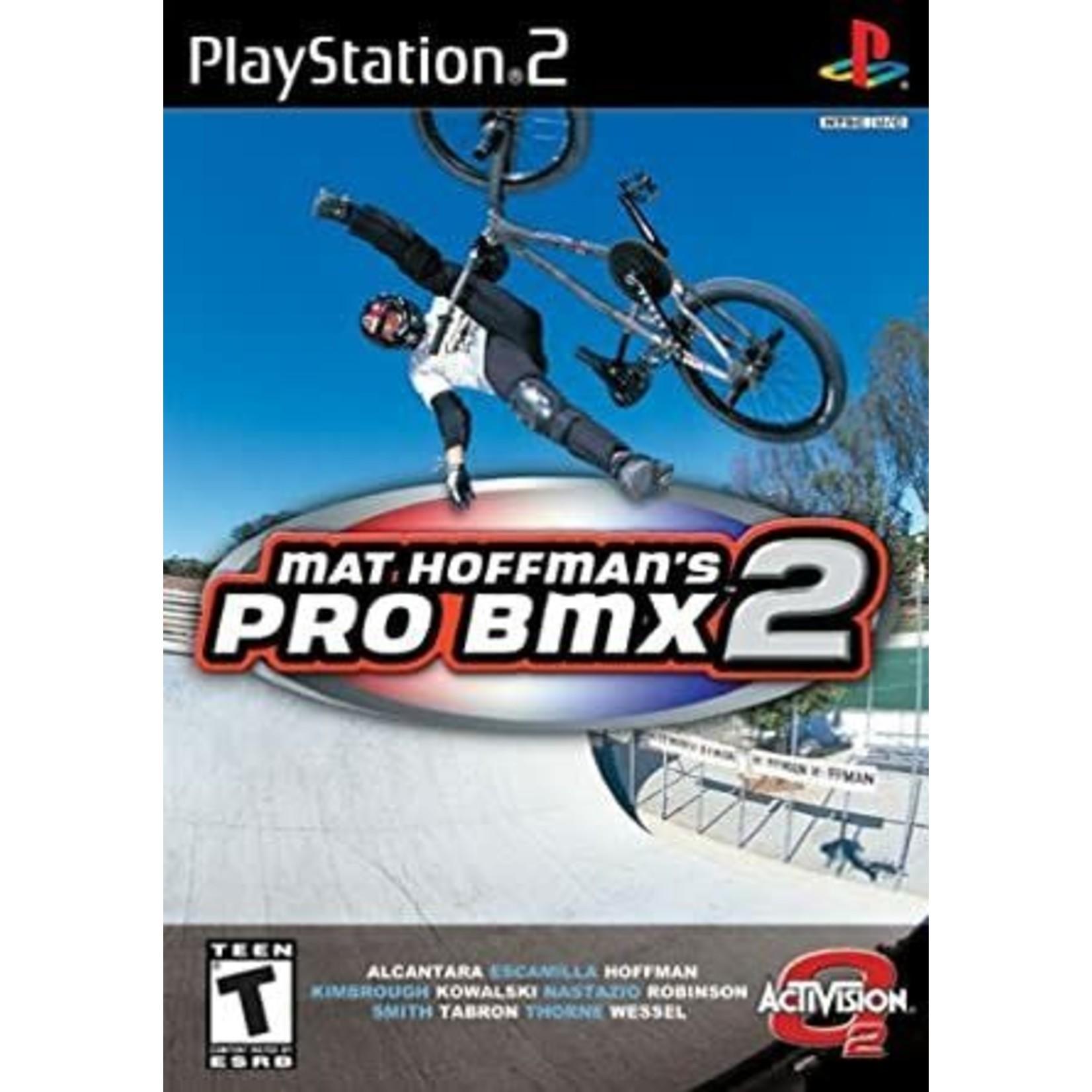 ps2u-Mat Hoffman's Pro BMX 2