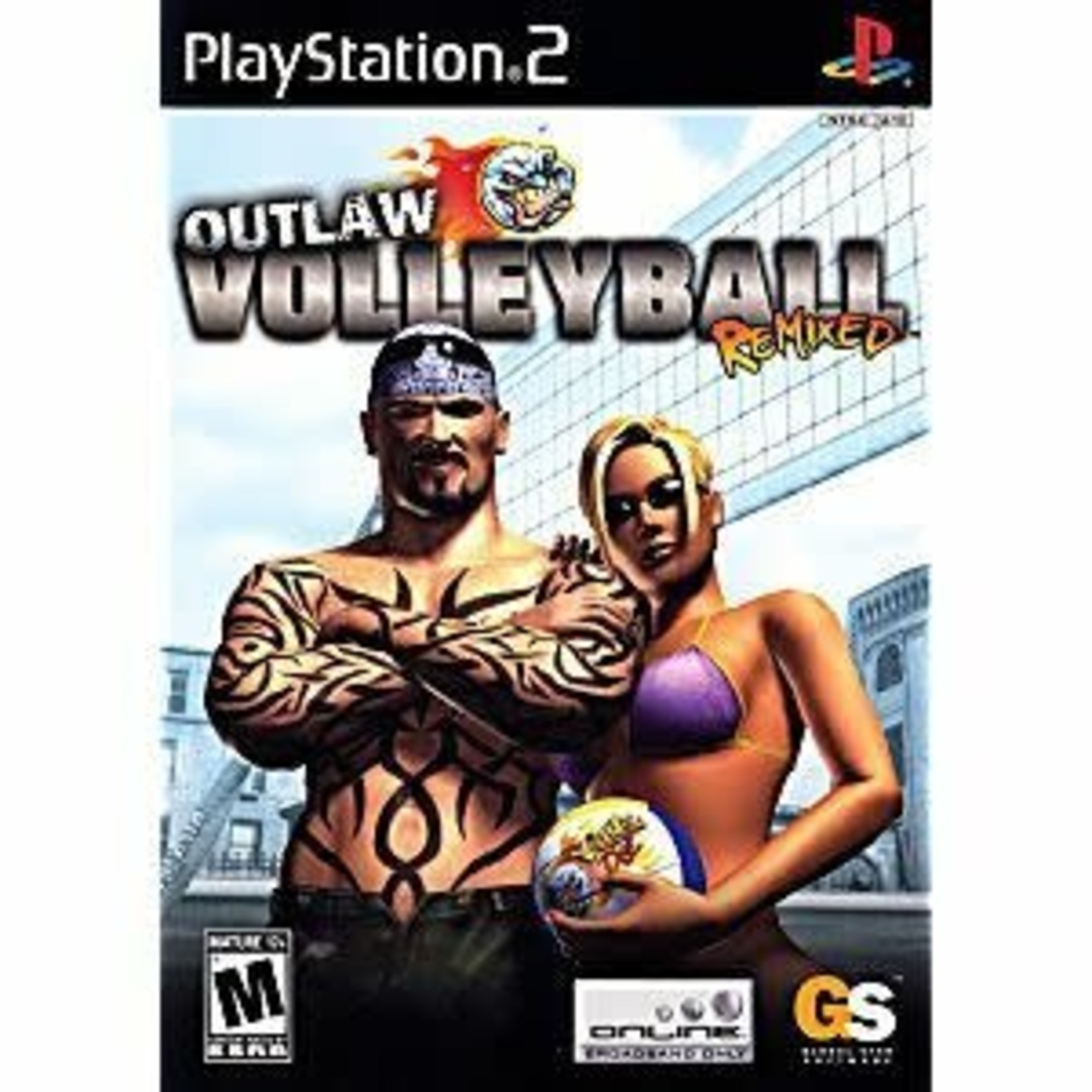 PS2U-OUTLAW VOLLEYBALL REMIXED