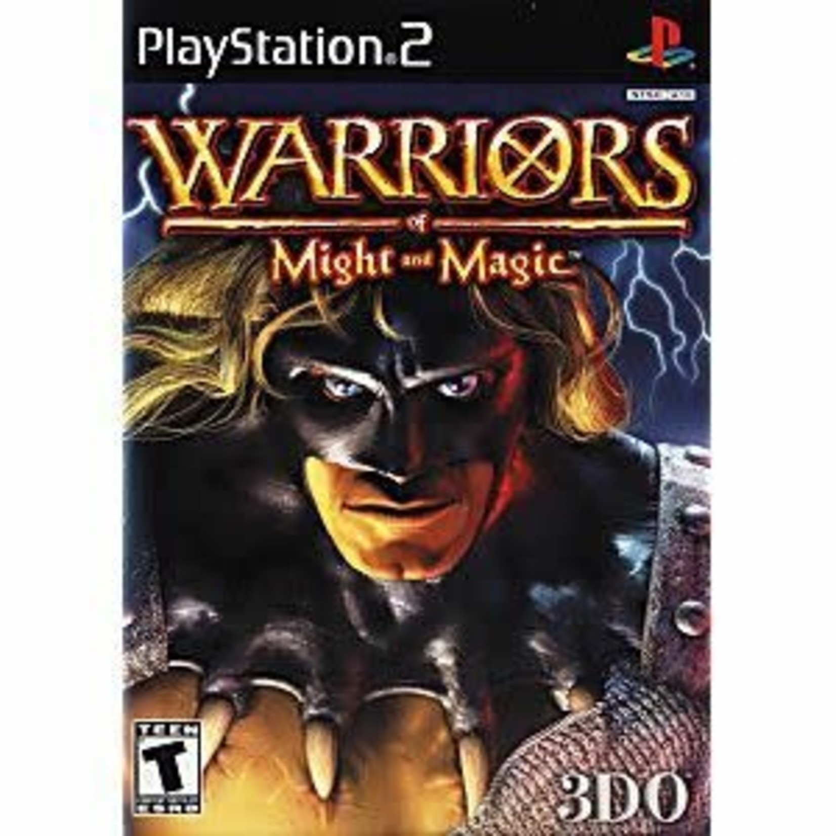 PS2U-WARRIORS OF MIGHT AND MAGIC