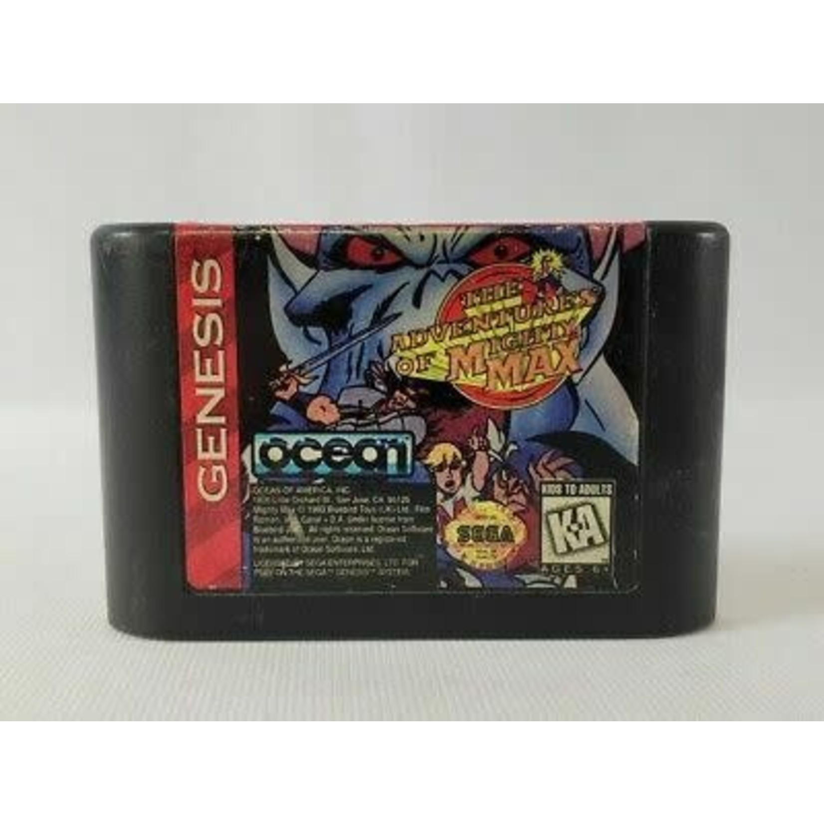 sgu-The Adventures of Mighty Max (cartridge)