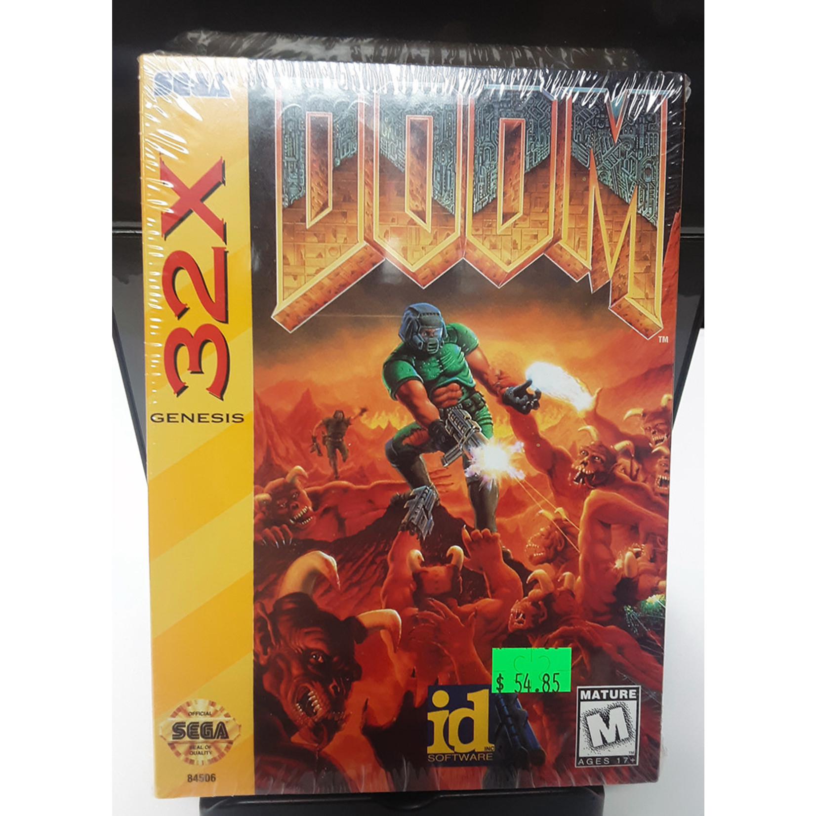 Doom 32X Sealed