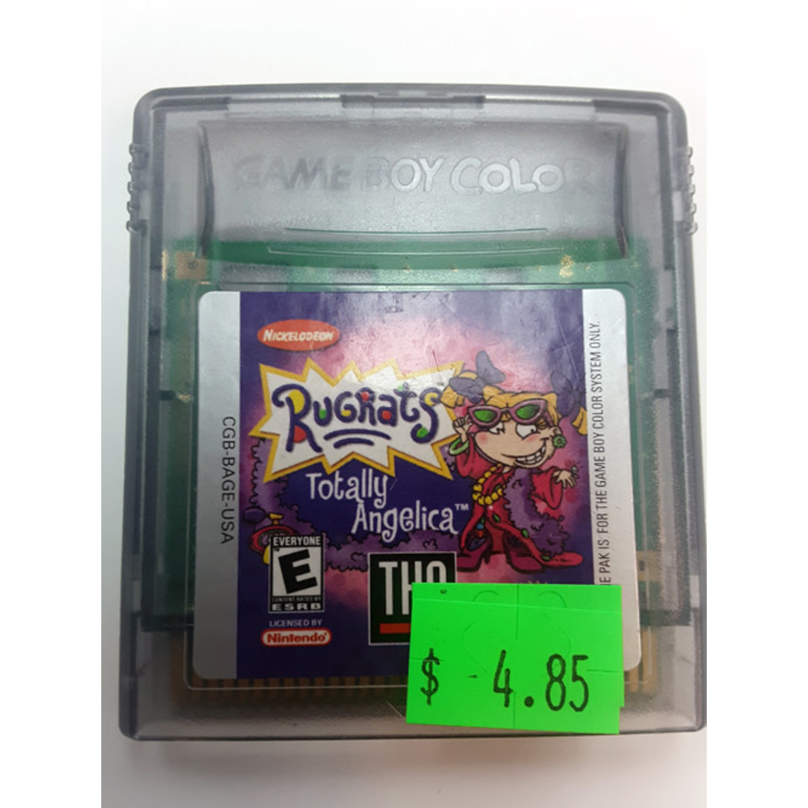 GBCu-Rugrats Totally Angelica (cartridge)
