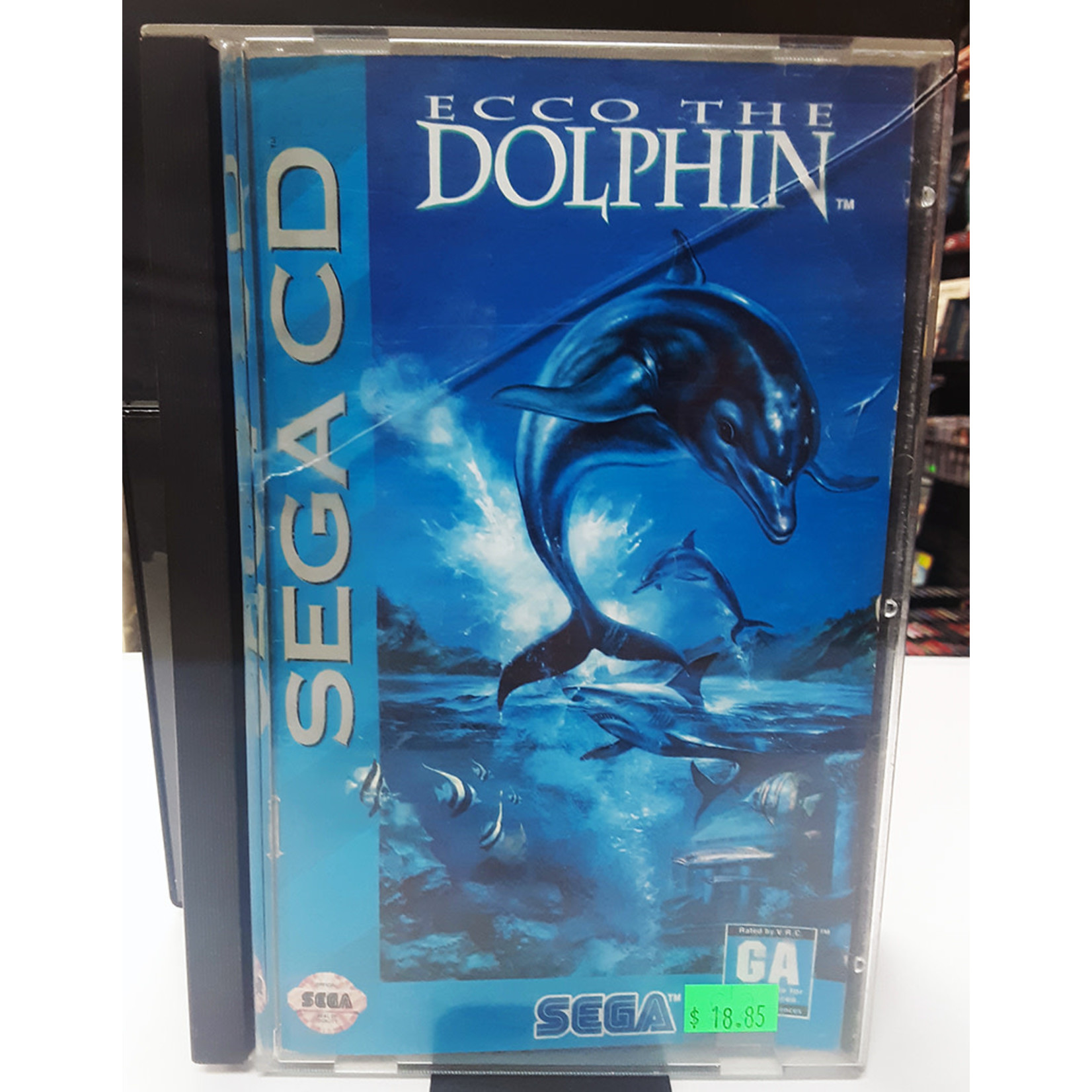 SCDU-Ecco the dolphin