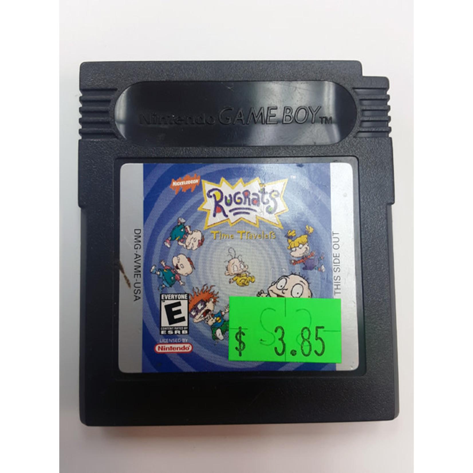 GBCu-Rugrats Time Travelers (cartridge)