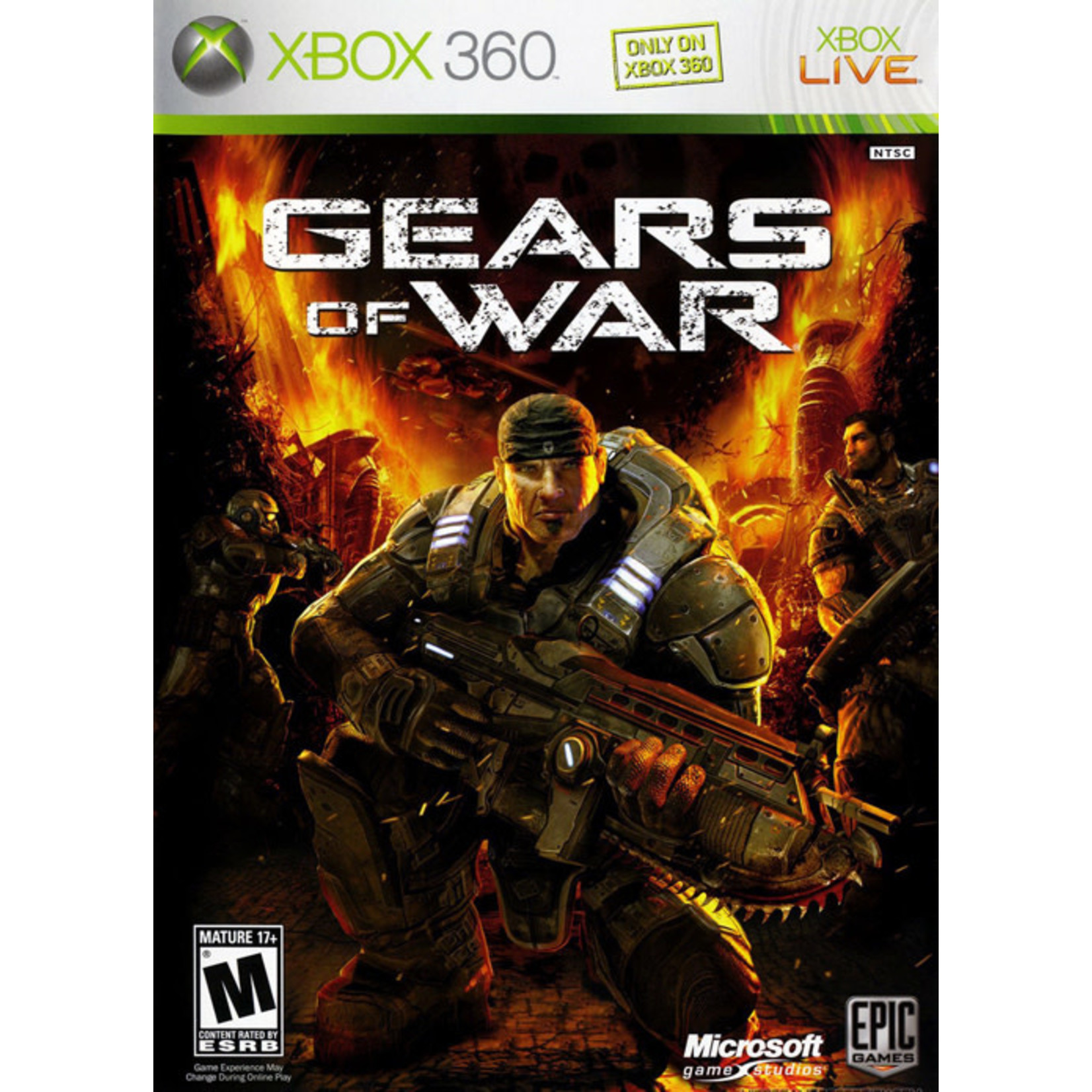X3U-Gears of War