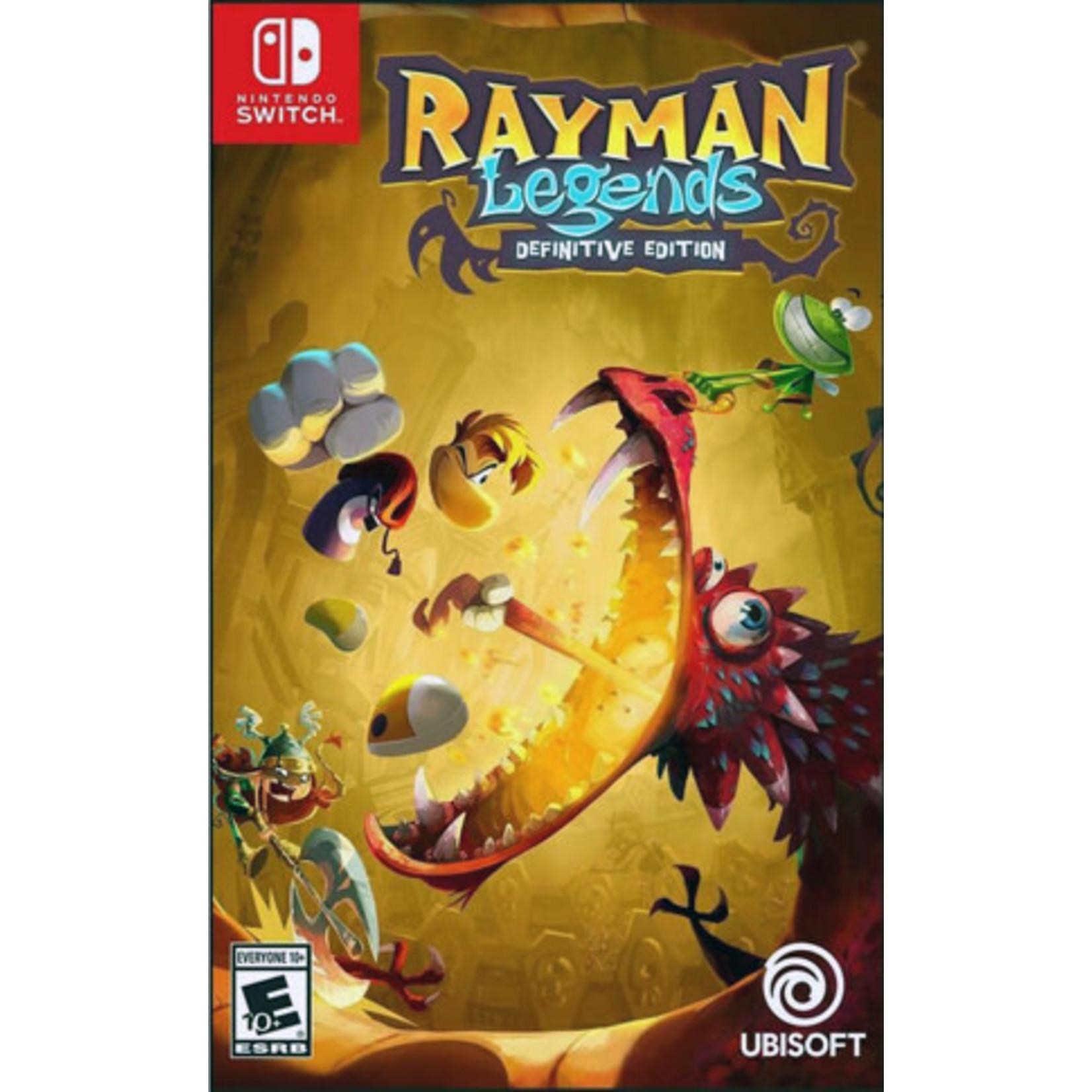 SWITCH-Rayman Legends Definitive Edition
