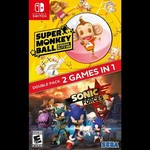 SWITCH-SONIC FORCES PLUS SUPER MONKEY BALL: BANANA BLITZ HD DOUBLE PACK