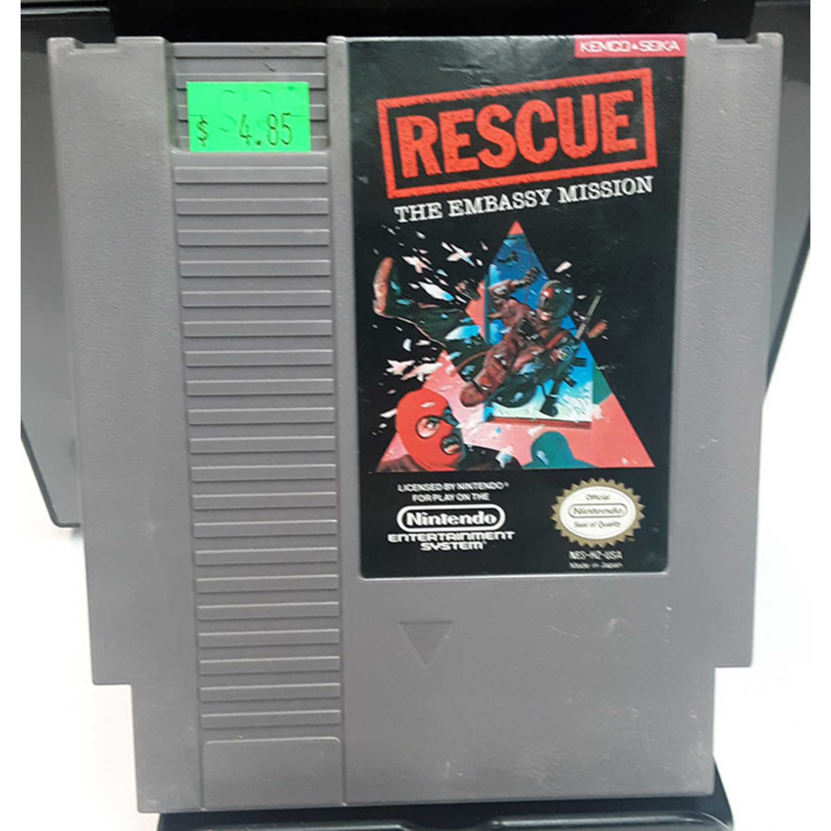 nesu-rescue the embassy mission (cartridge)