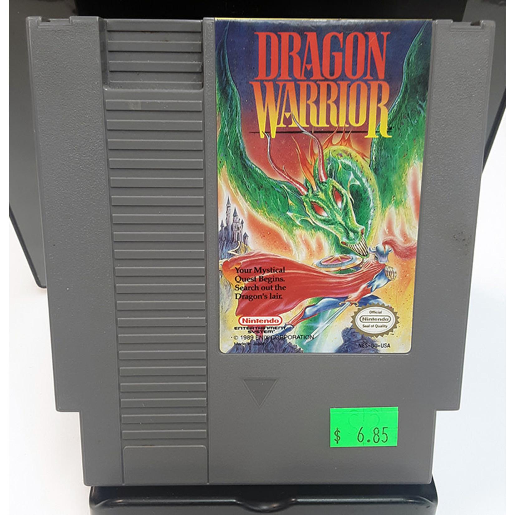 NESU-DRAGON WARRIOR (cartridge)