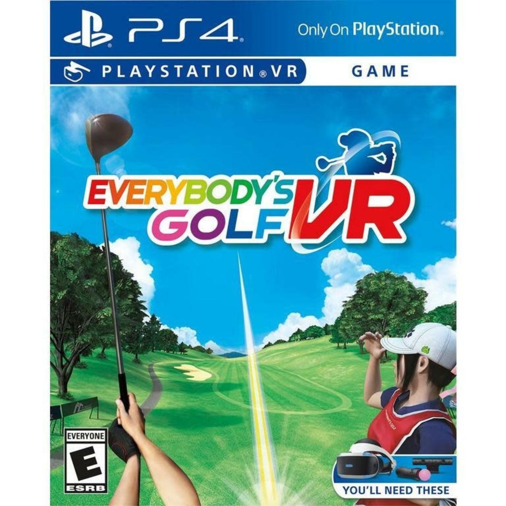 PS4U-Everybody's Golf VR