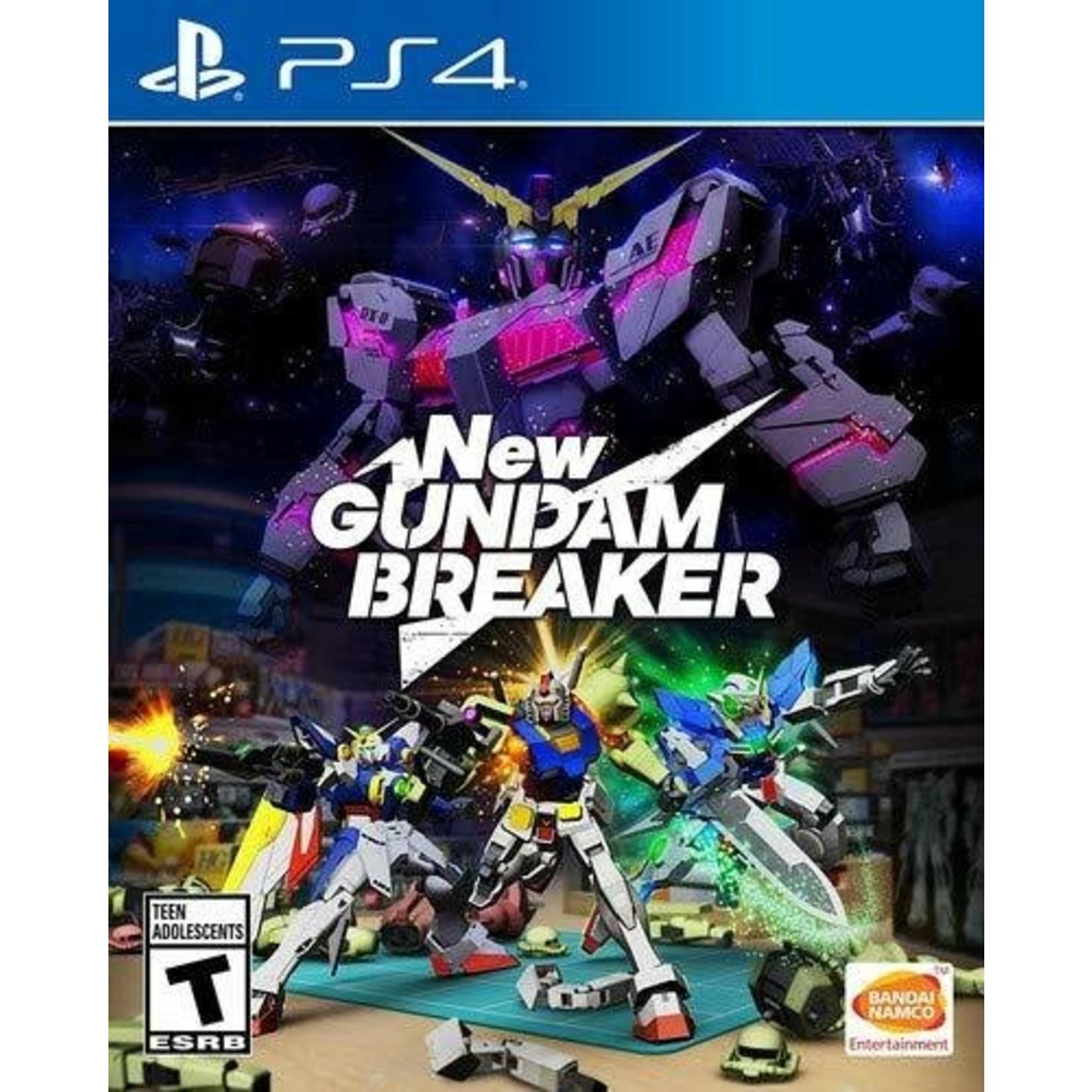 ps4-New Gundam Breaker