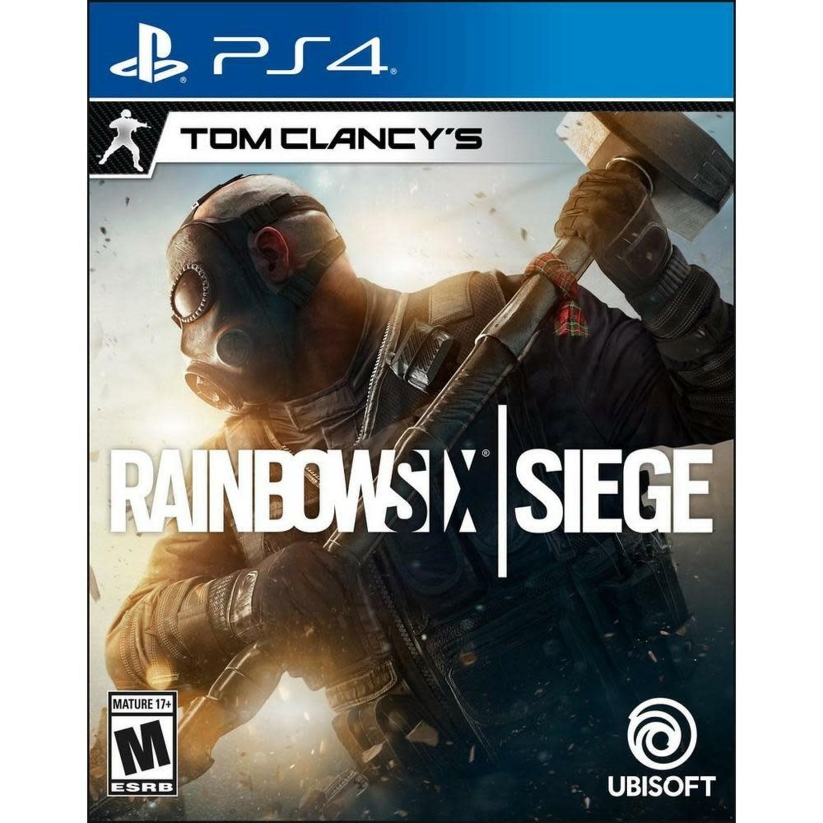 PS4-Tom Clancy's Rainbow Six: Siege