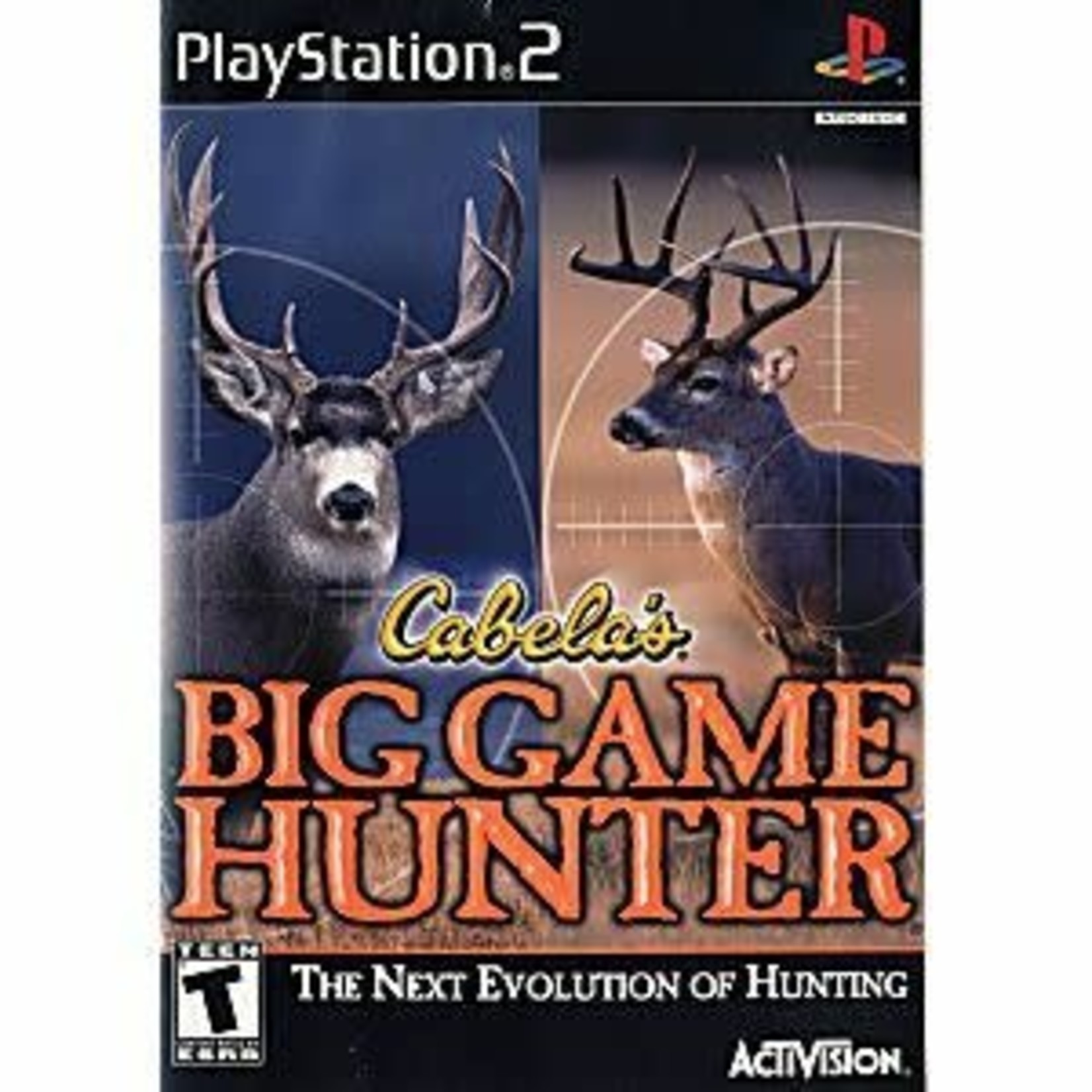 PS2U-CABELA BIG GAME HUNTER
