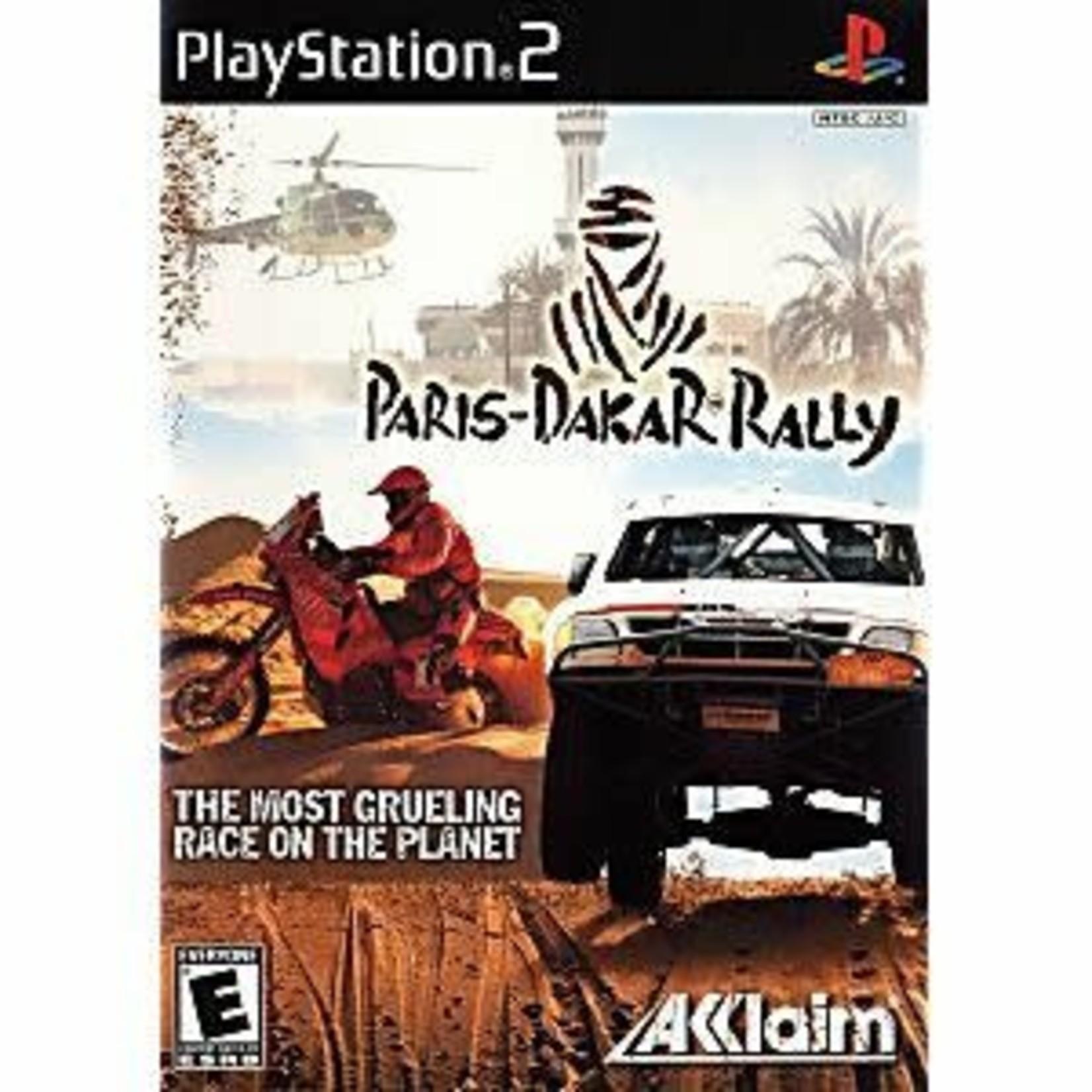 PS2U-PARIS DAKAR RALLY