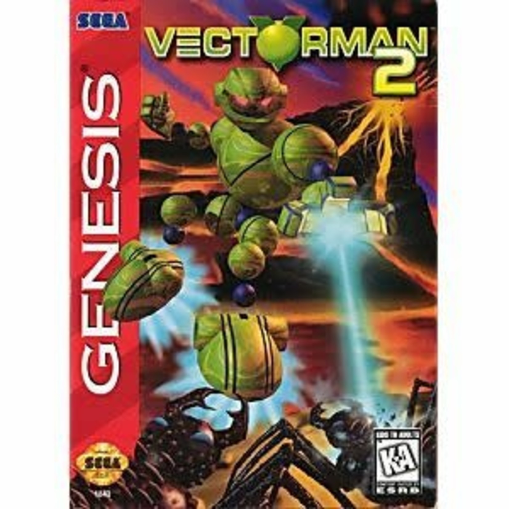 sgu-Vectorman 2 (complete in box)