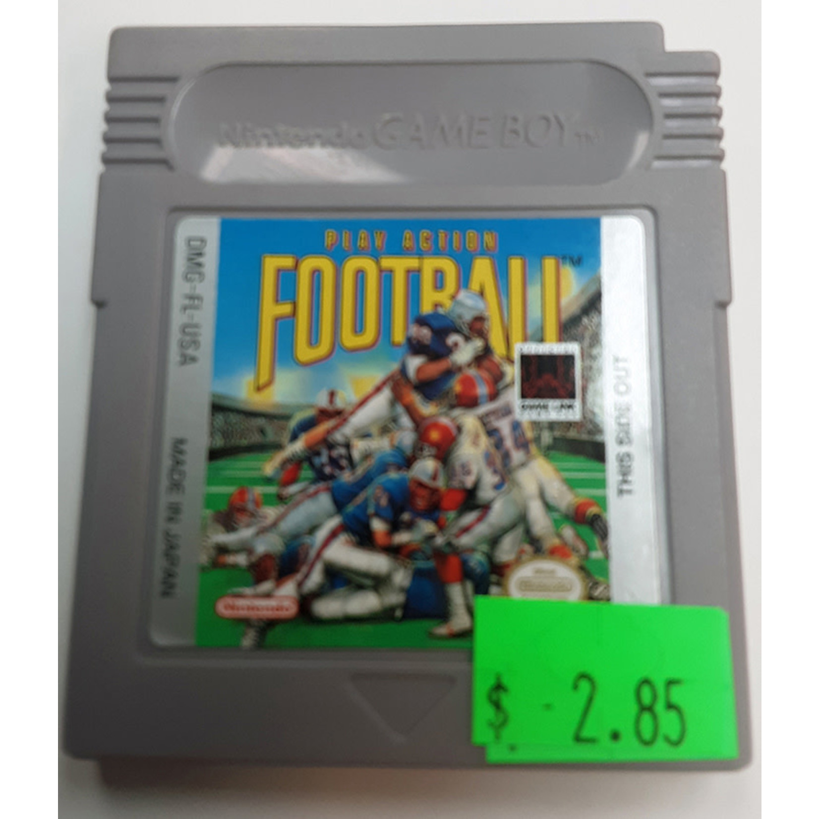 GBu-Play Action Football (cartridge)