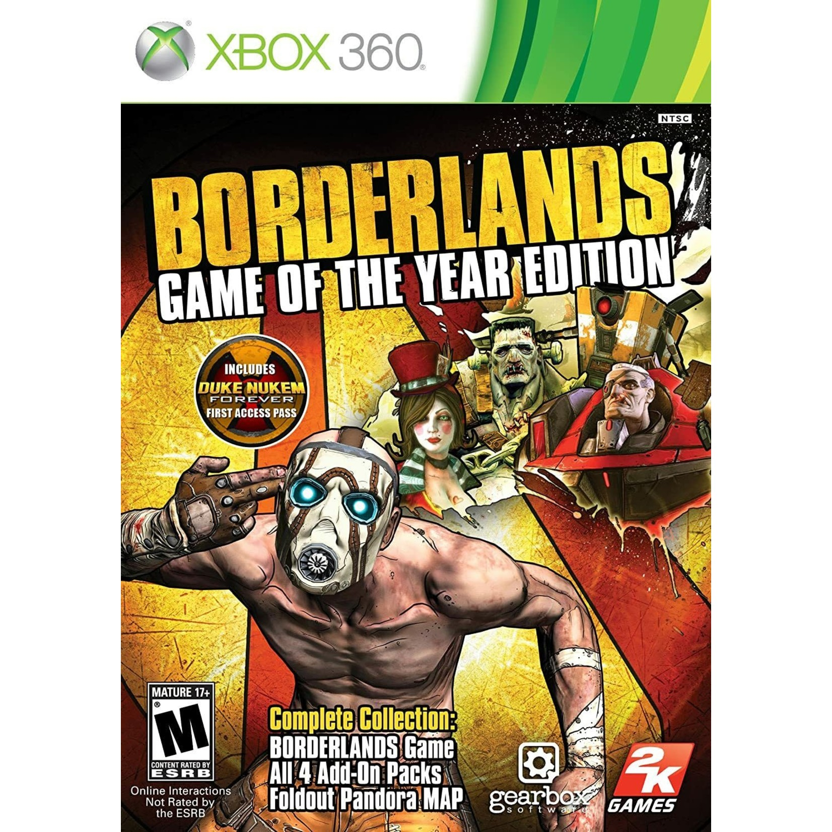 X3U-Borderlands: Game Of The Year